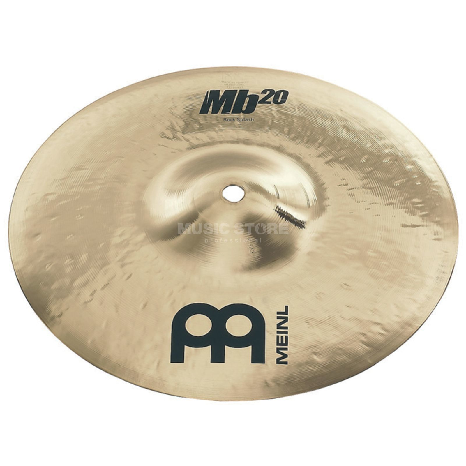 "Meinl MB20 Rock Splash 10"" MB20-10RS-B, finition brillante Image du produit"