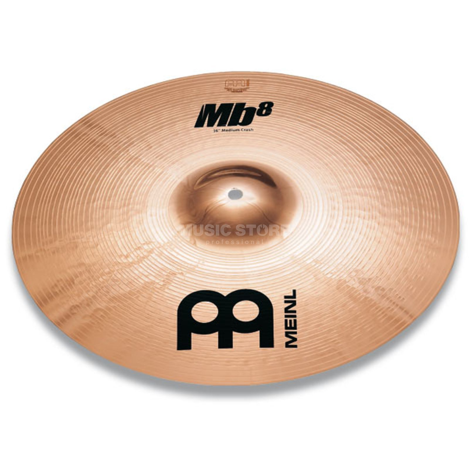 "Meinl MB8 Heavy Crash 18"", MB8-18HC-B, Brilliant Finish Produktbild"