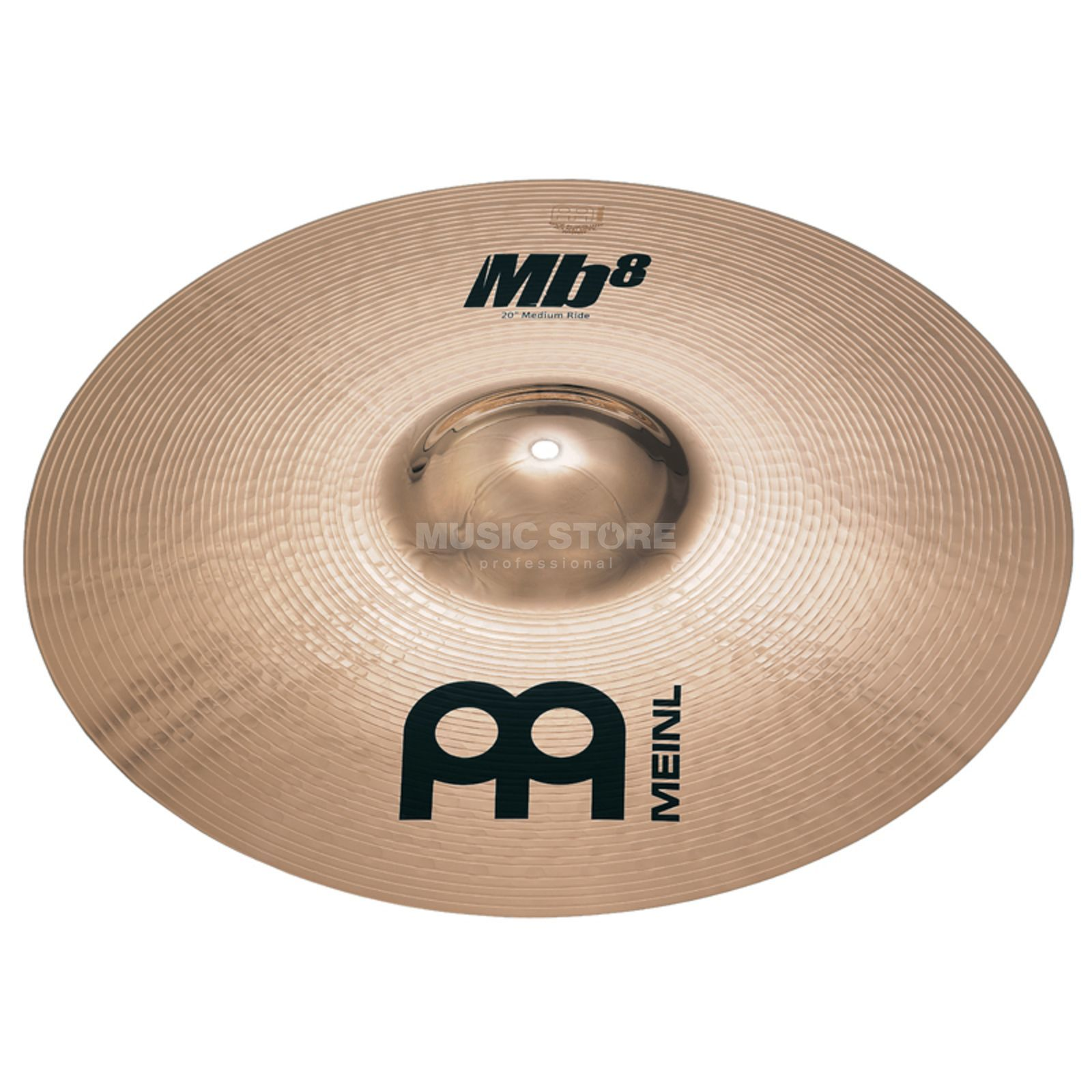"Meinl MB8 Heavy Ride 22"", MB8-22HR-B, Brilliant Finish Produktbillede"