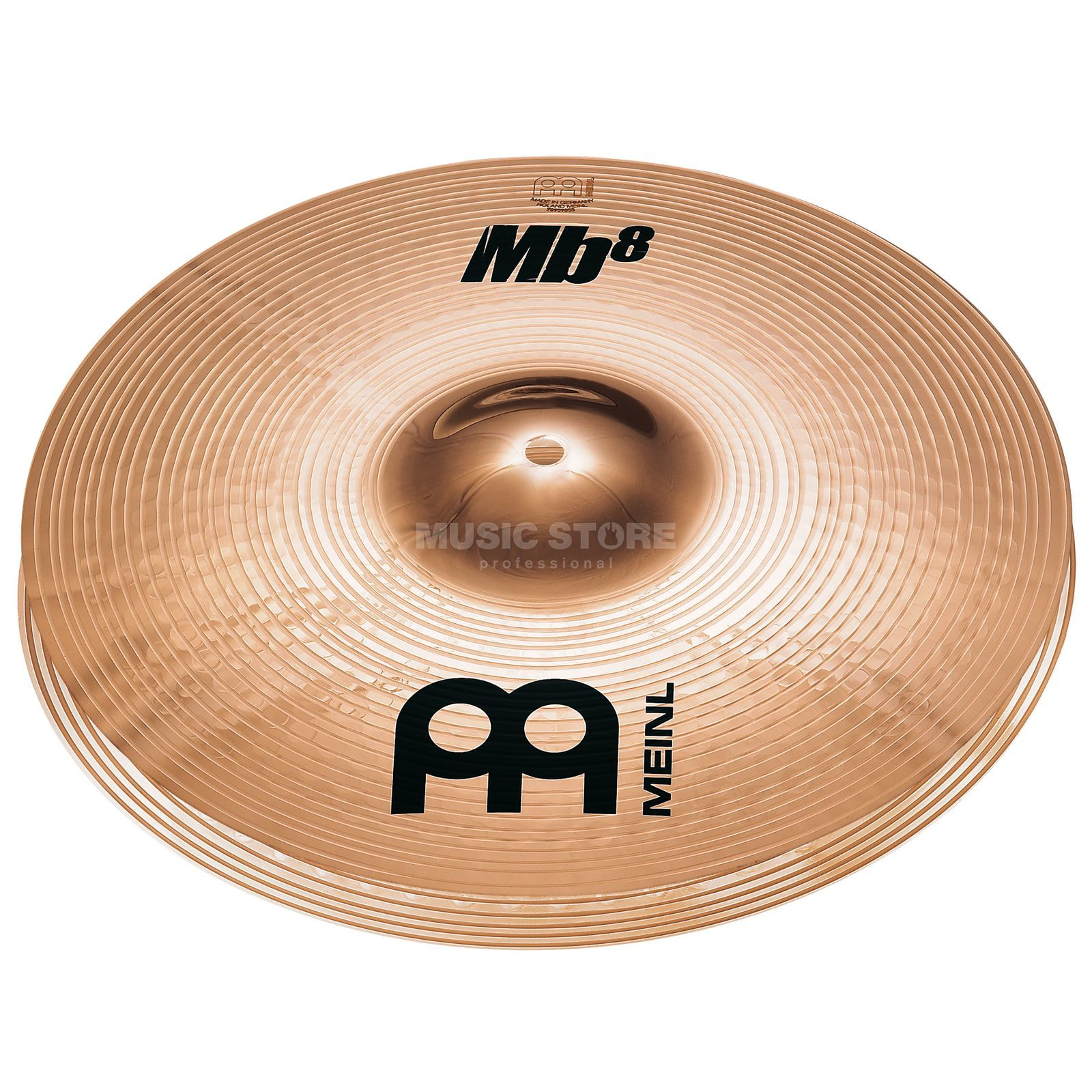 "Meinl MB8 Medium HiHat 13"", MB8-13MH-B, B-Stock Product Image"