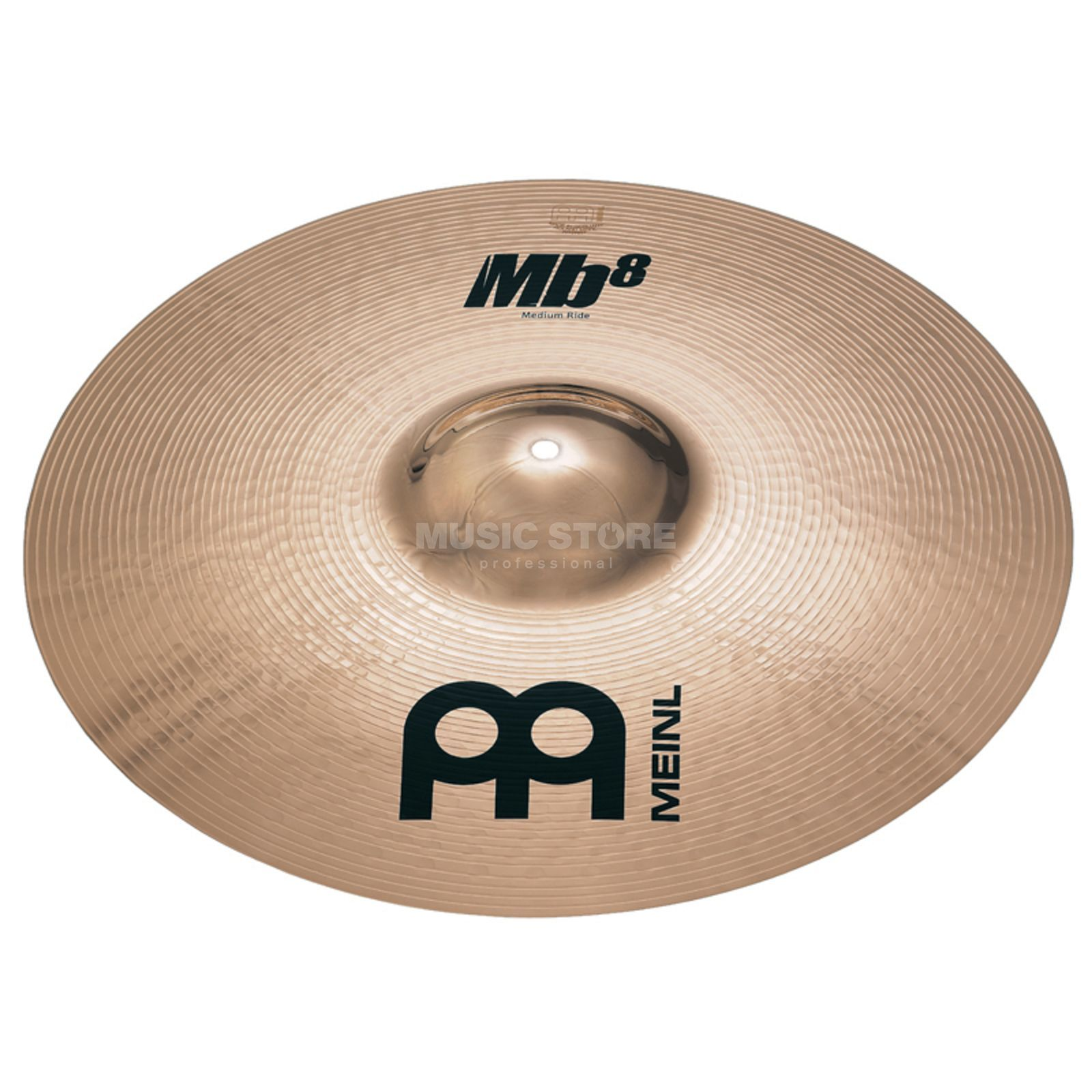 "Meinl MB8 Medium Ride 22"", MB8-22MR-B, Brilliant Finish Zdjęcie produktu"