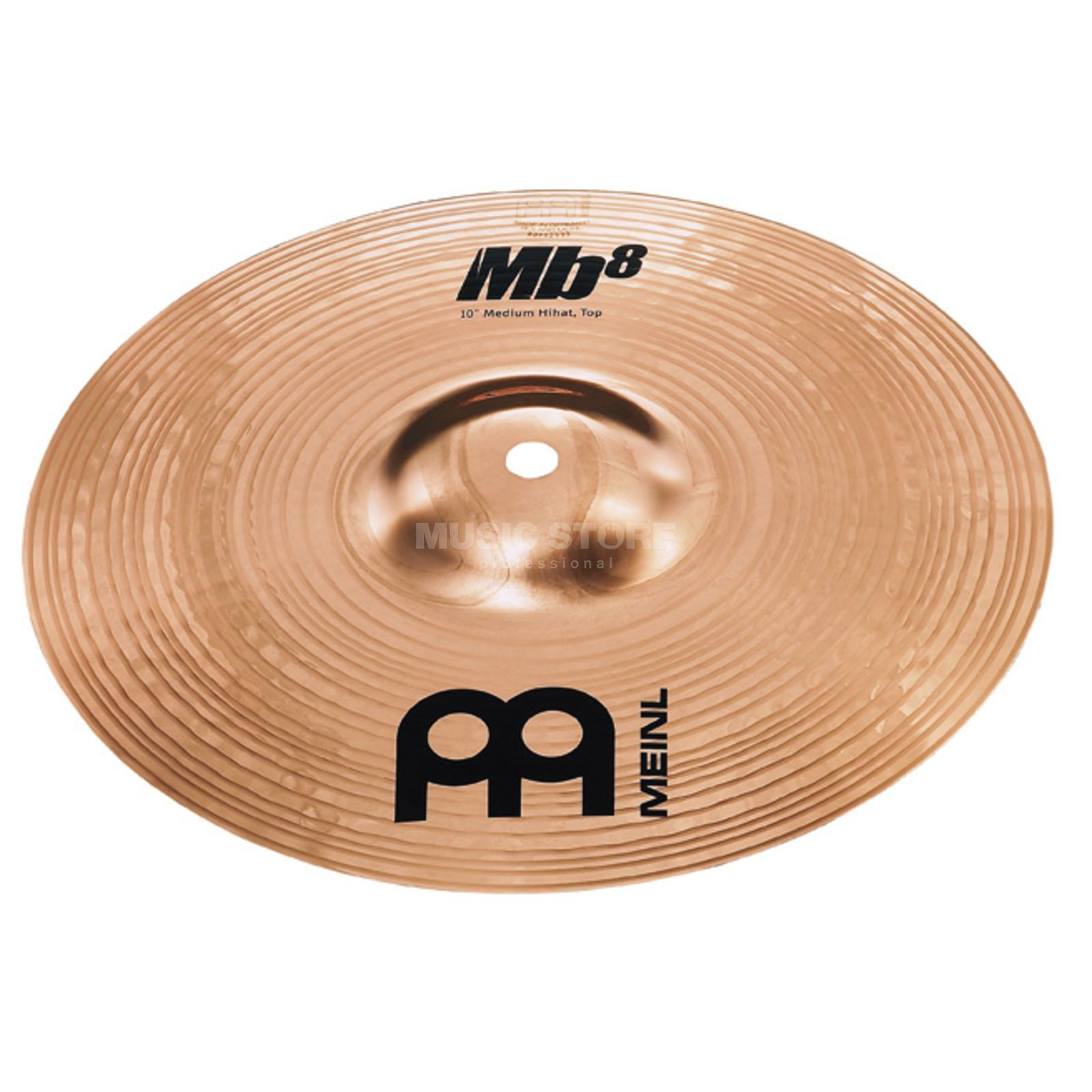 "Meinl MB8 Mini HiHat 10"", MB8-10MH-B, Brilliant Finish Produktbillede"