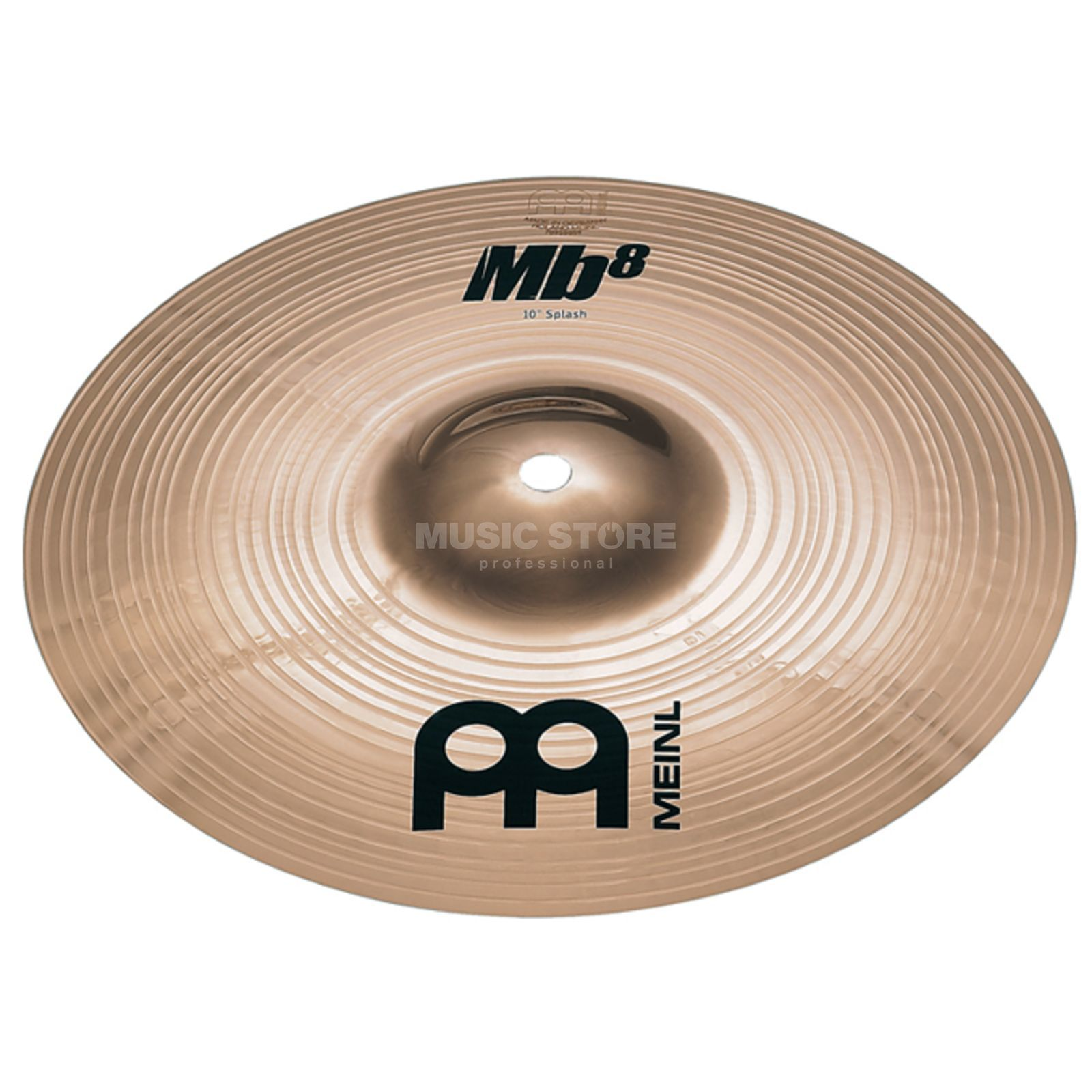 "Meinl MB8 Splash 10"" MB8-10S-B, Brilliant Finish Productafbeelding"