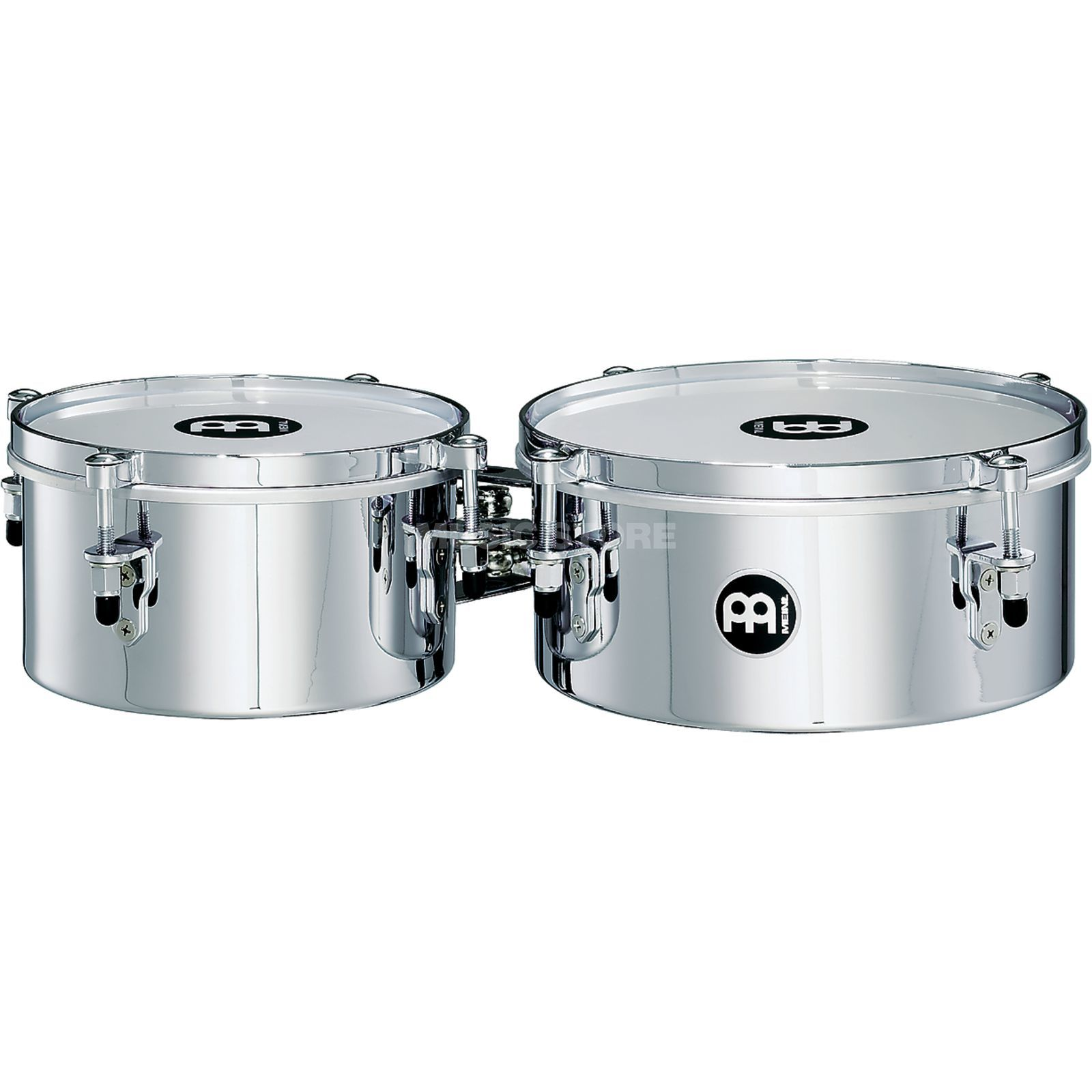 "Meinl Mini Timbales with810CH, 8"" & 10"", Chrome Finish Produktbillede"