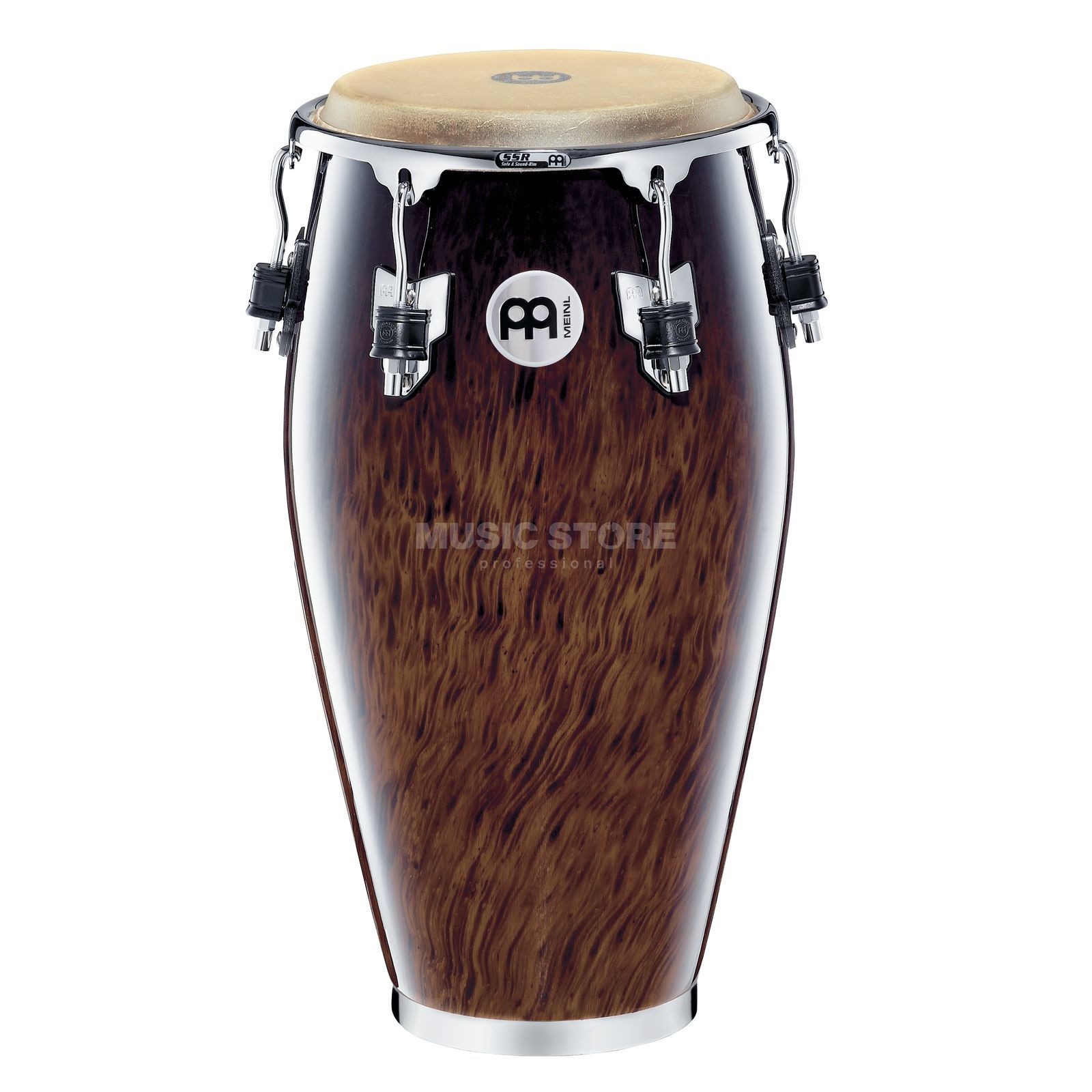 "Meinl Professional Conga MP1134BB 11 3/4"", Brown Burl #BB Product Image"
