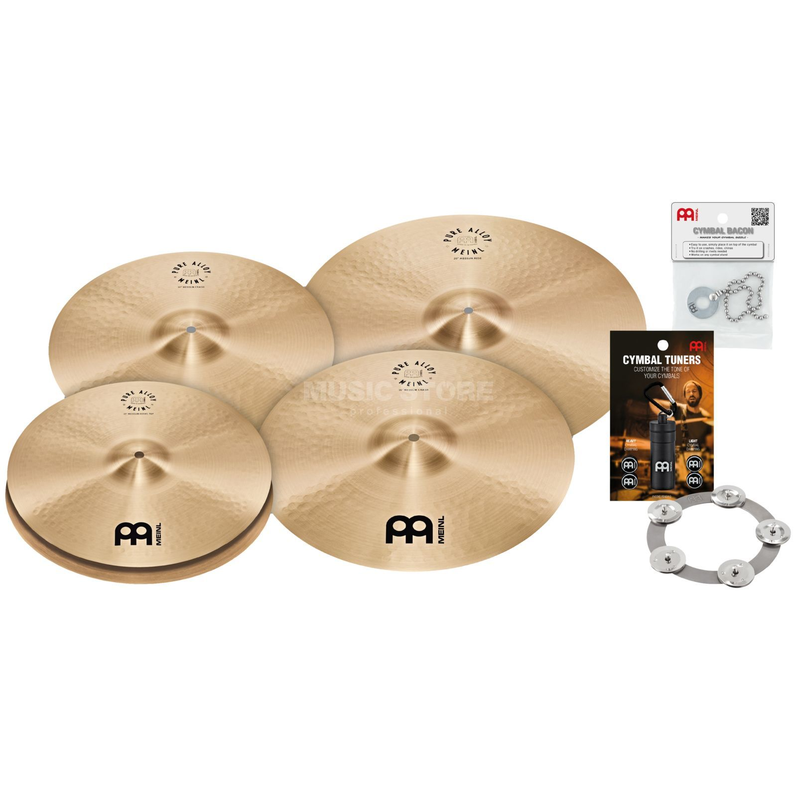 Meinl Pure Alloy Cymbal Set Small Product Image