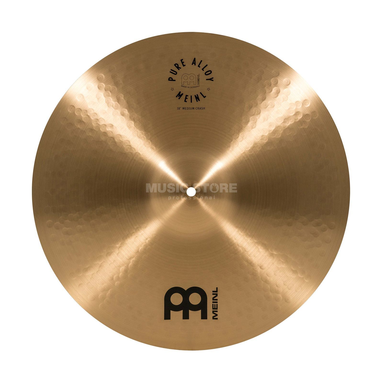 Meinl Pure Alloy Medium Crash PA18MC Product Image