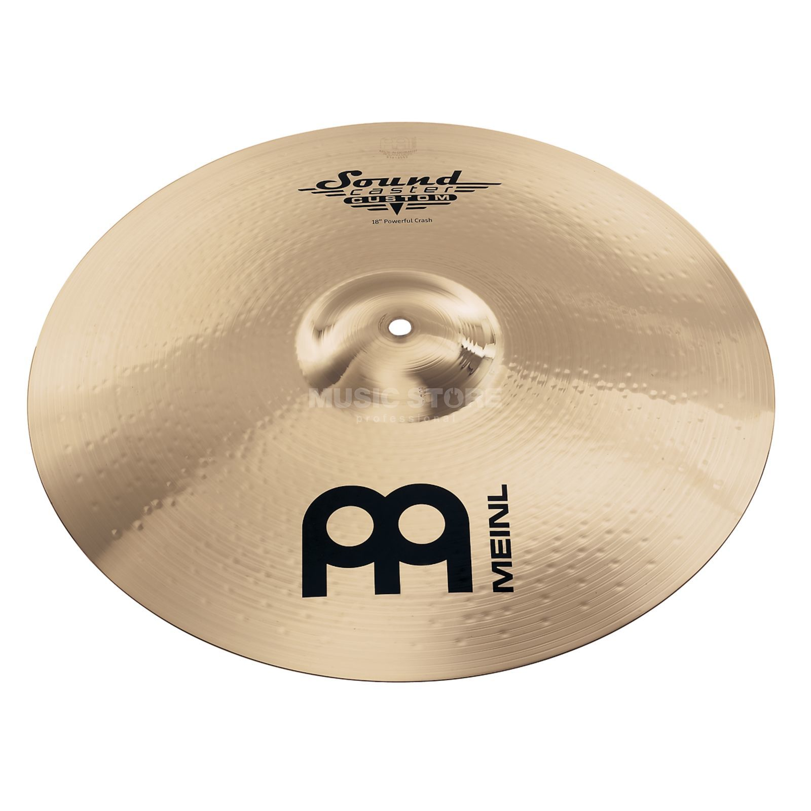 "Meinl SoundCaster Custom Crash 17"" SC17PC-B, Powerful Produktbild"