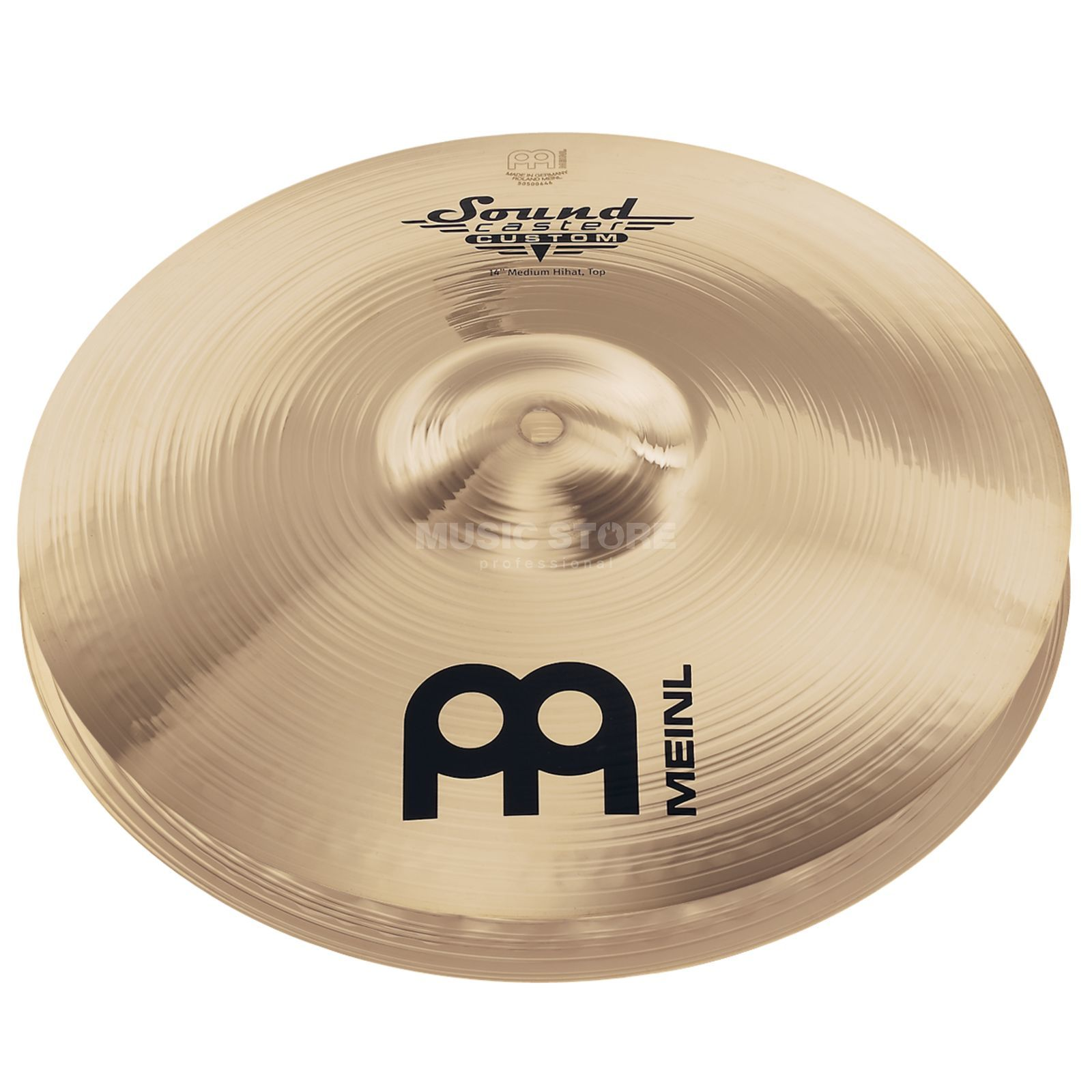 "Meinl SoundCaster Custom HiHat 13"" SC13MH-B, Medium Product Image"
