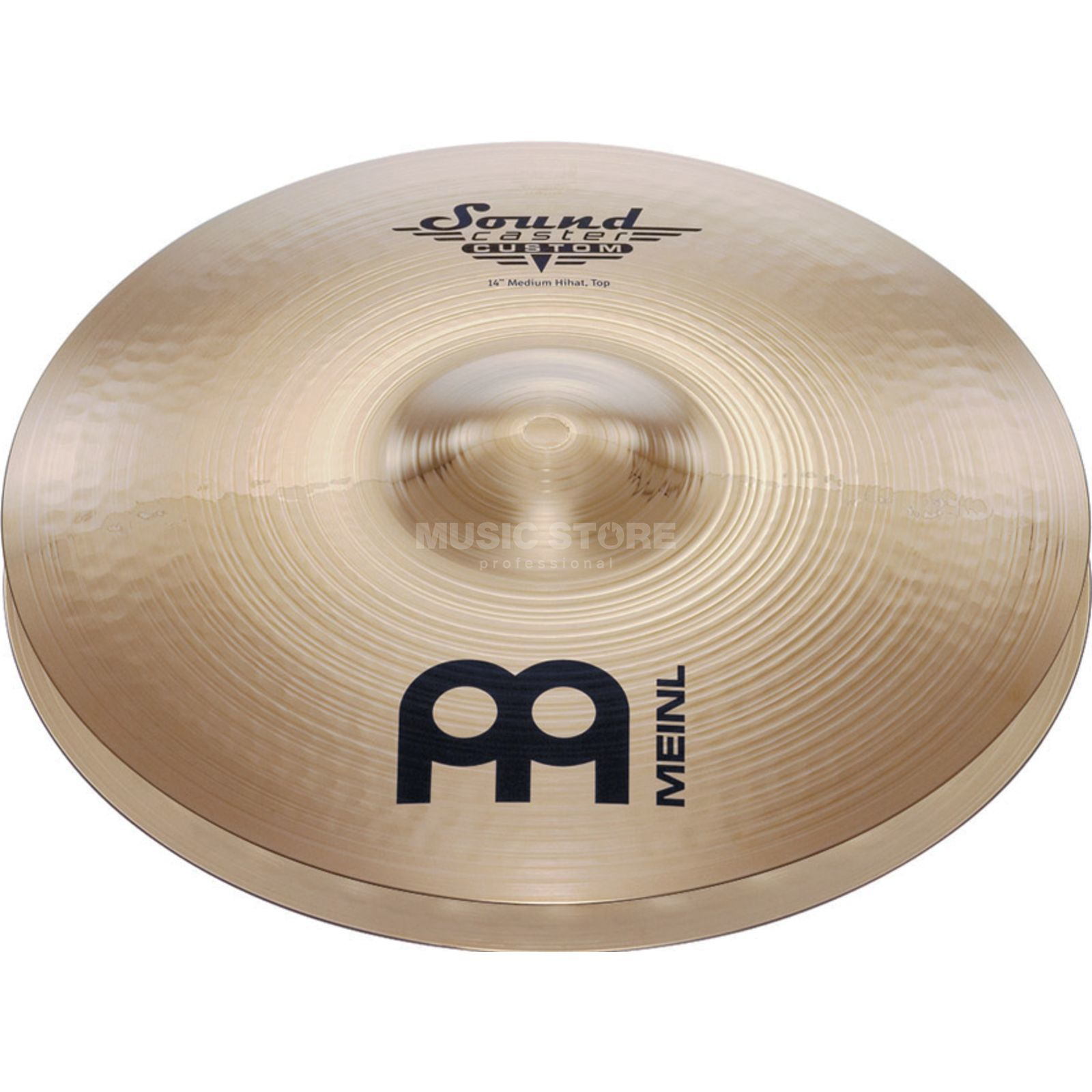 "Meinl SoundCaster Custom HiHat 14"" SC14MH-B, Medium Product Image"