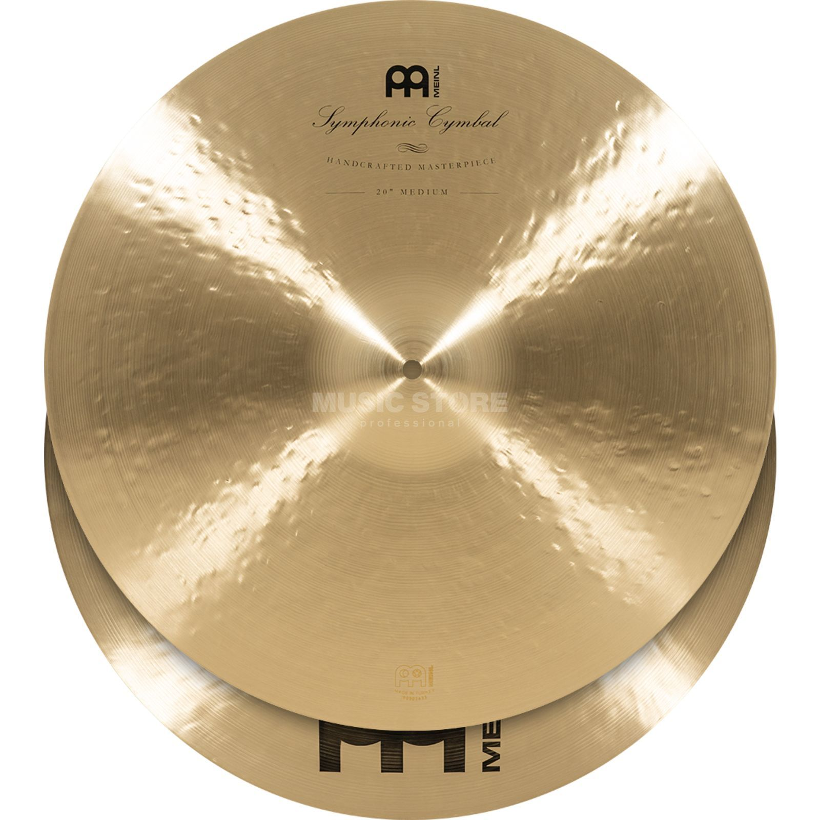 "Meinl Symphonic Cymbals 20"", Medium, SY-20M Product Image"