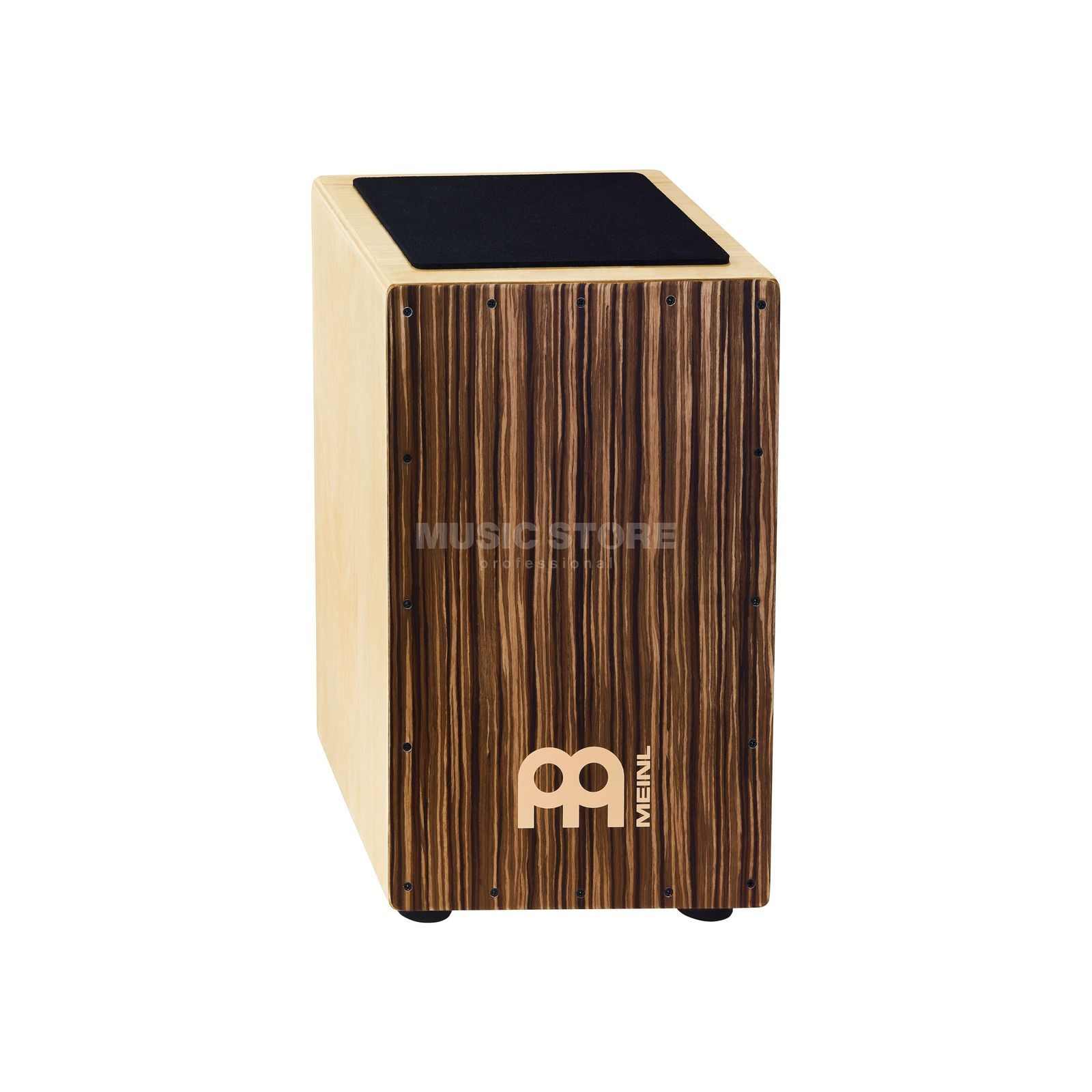 Meinl Traditional String Cajon CAJ3SU-M, Striped Umber Produktbillede