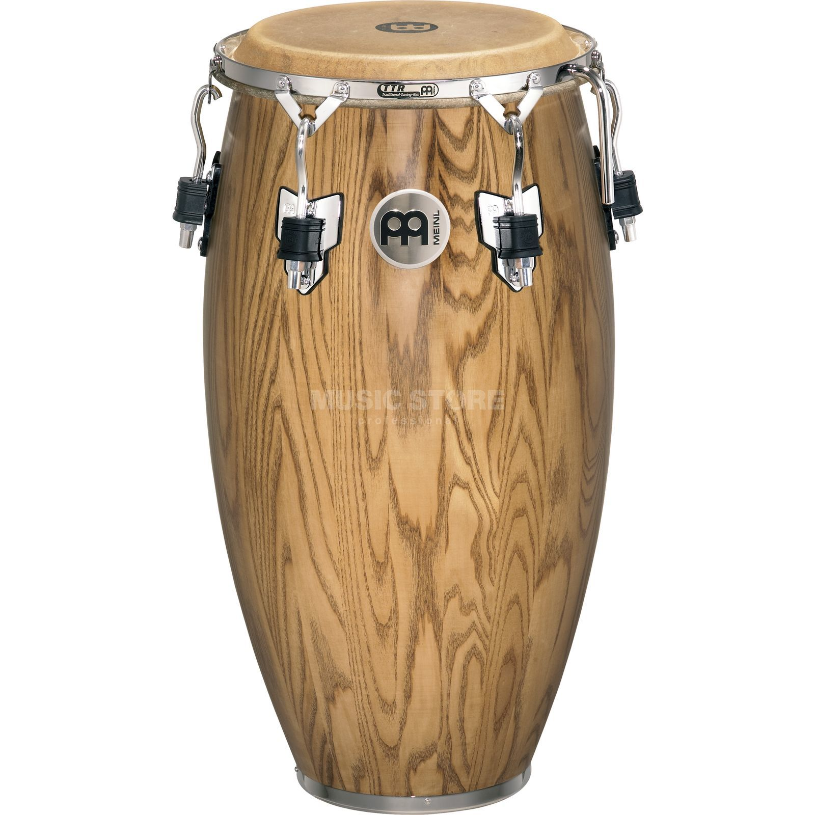 "Meinl Woodcraft Conga WC1134ZFA-M, 11 3/4"", Zebra Finished Ash Product Image"