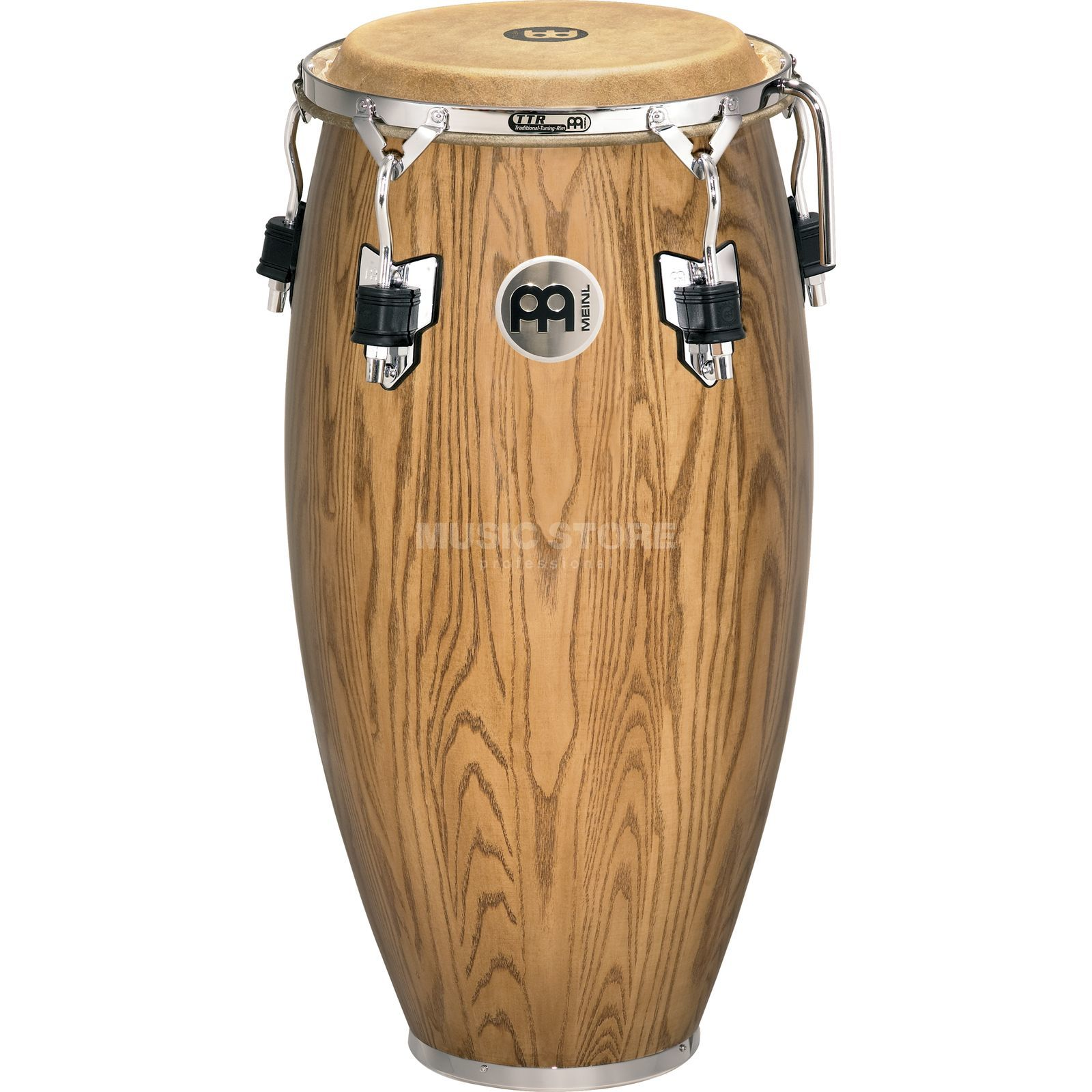 "Meinl Woodcraft Conga WC11ZFA-M, 11"" Quinto, Zebra Finished Ash Product Image"