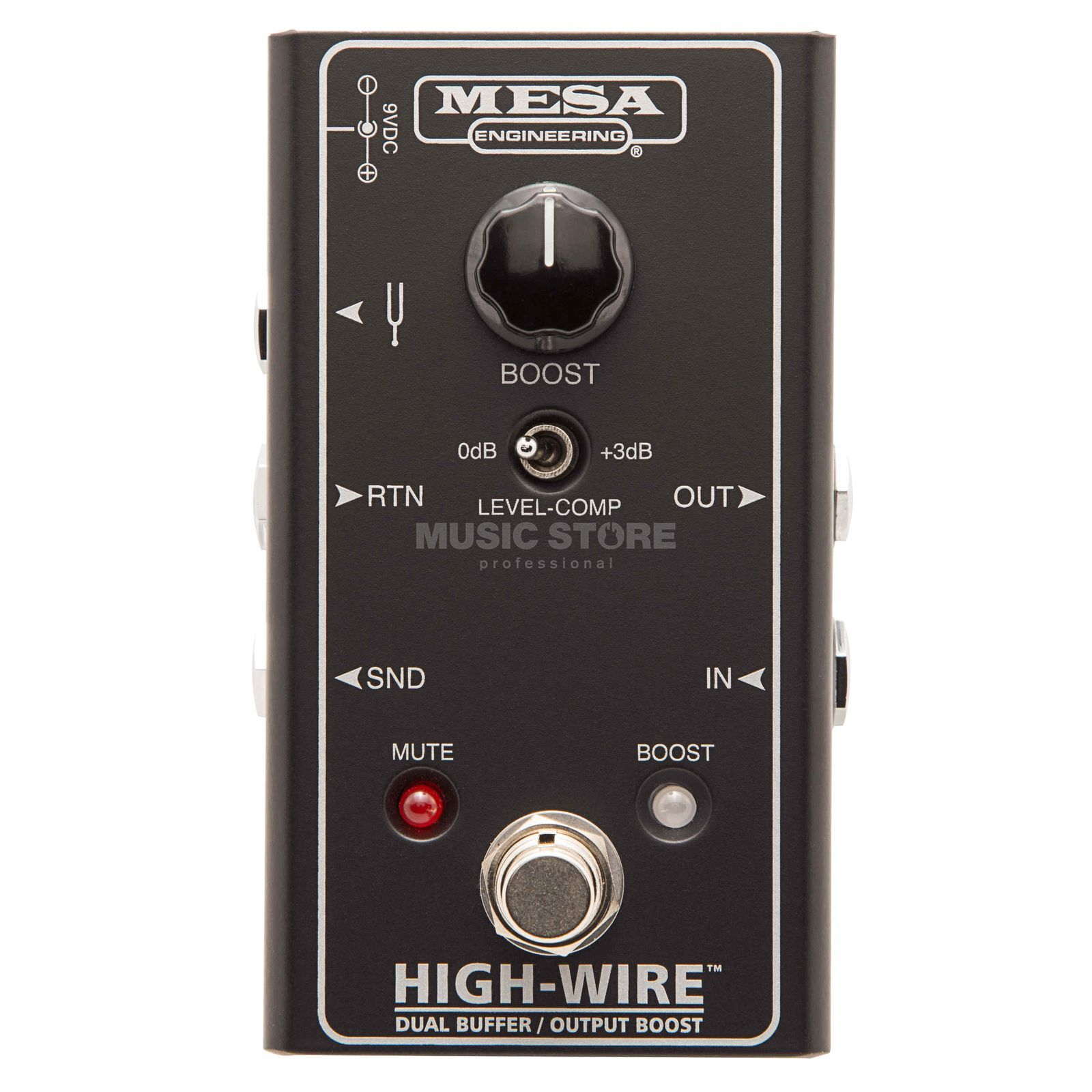 Mesa Boogie High-Wire Dual Buffer & Output Boost Produktbillede