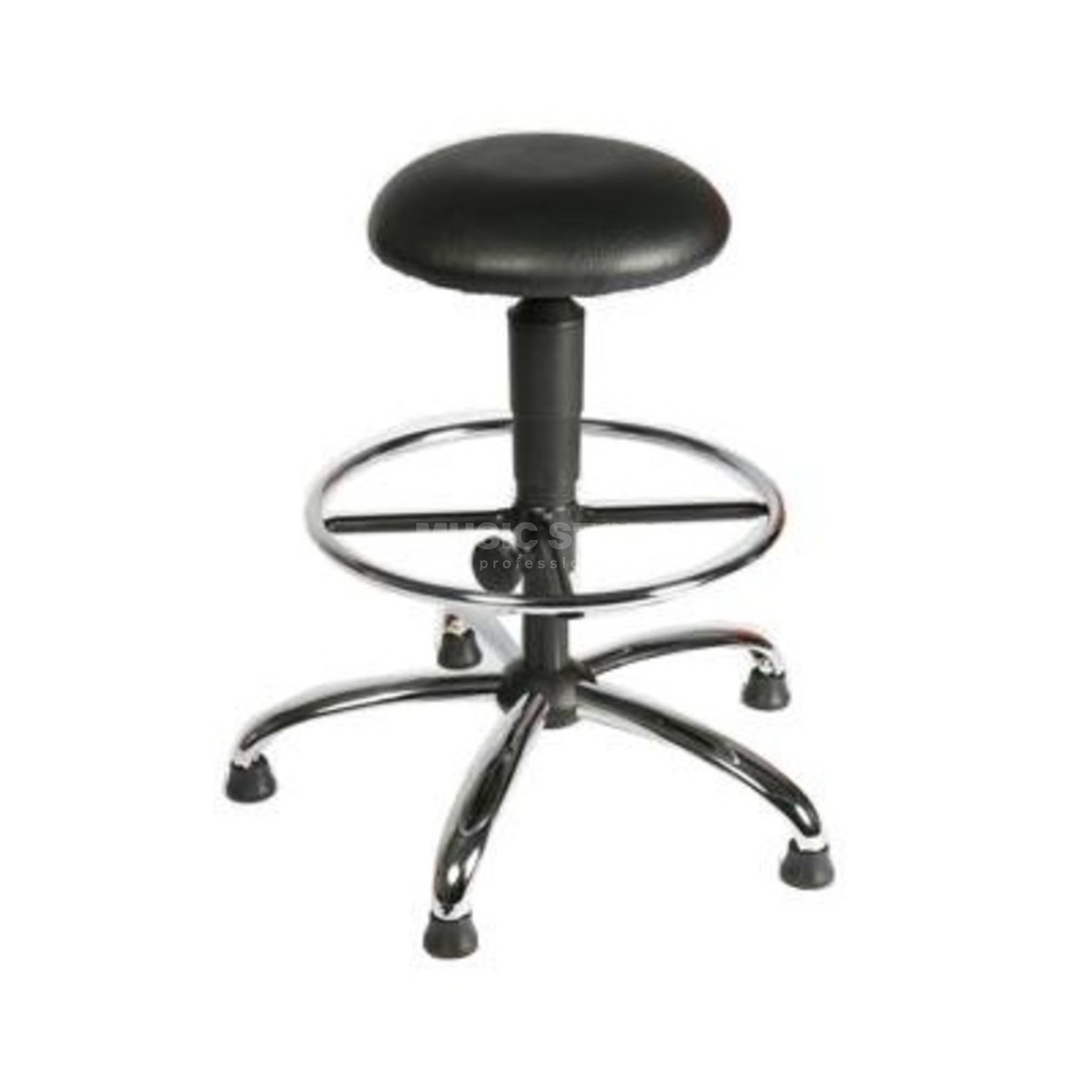 Mey Chair Systems Hocker A18-H-KL-FR5/11-34 schwarz Produktbild