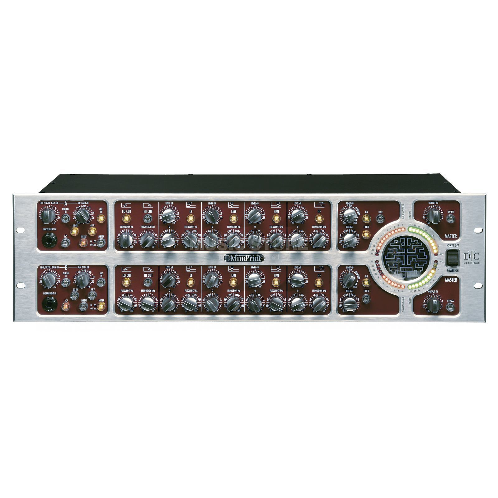 Mindprint DTC 2-Channel Mic/Line Preamp/ EQ optional Digital I/O Produktbillede