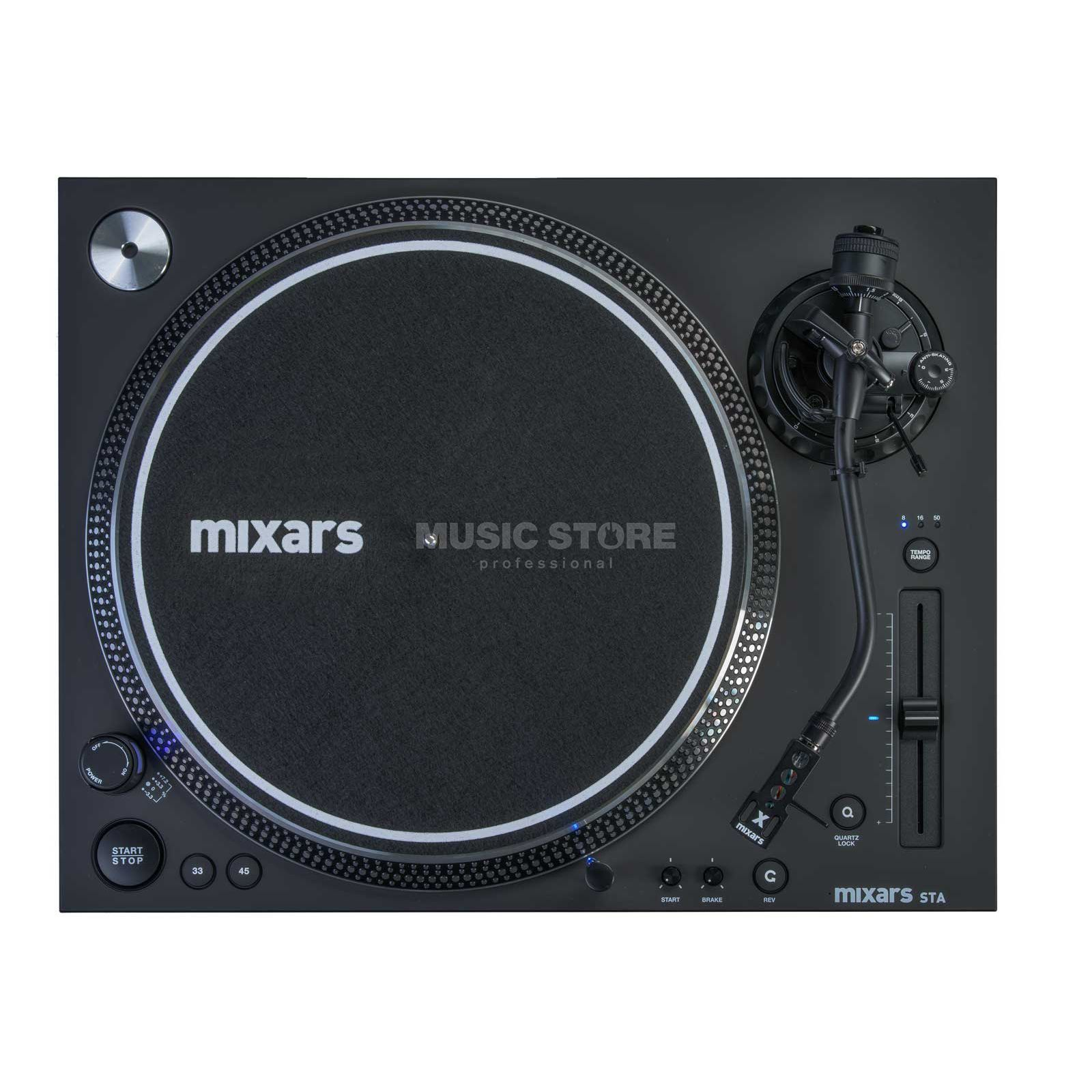 mixars STA High Torque Scratch Turntable Produktbillede