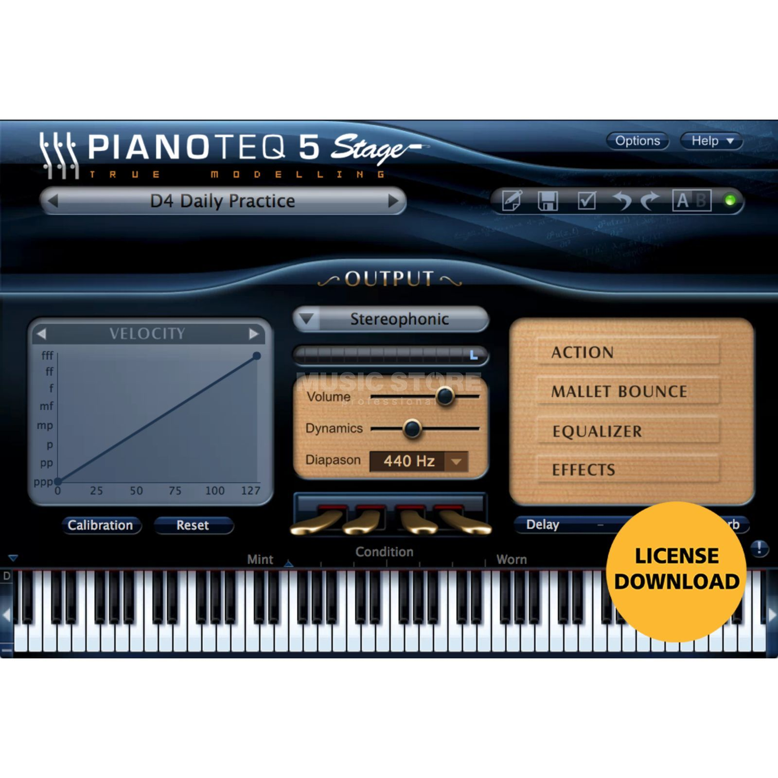 Modartt Pianoteq 5 Stage VST /Audio Unit Produktbillede