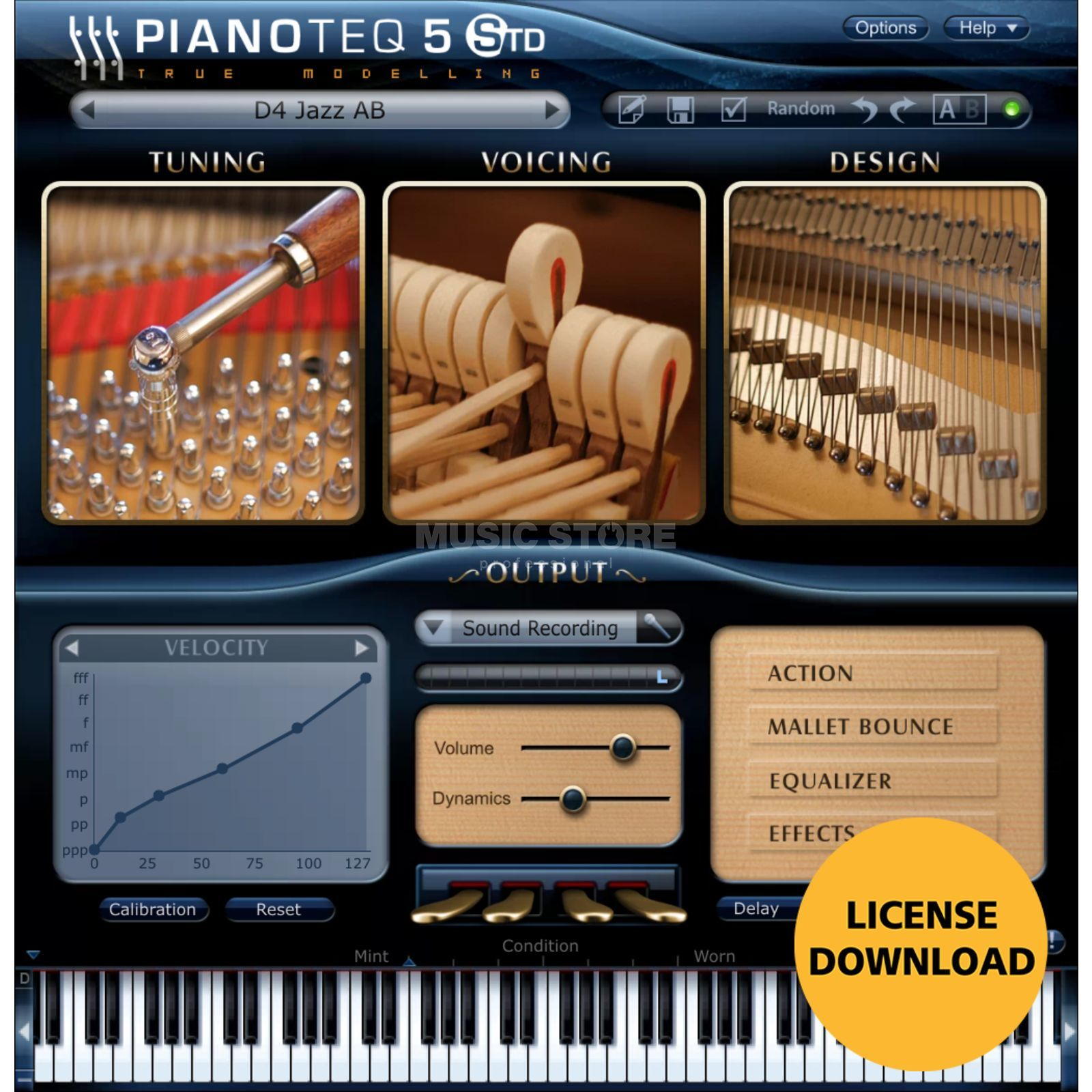 Modartt Pianoteq 5 Standard (Download) Produktbild