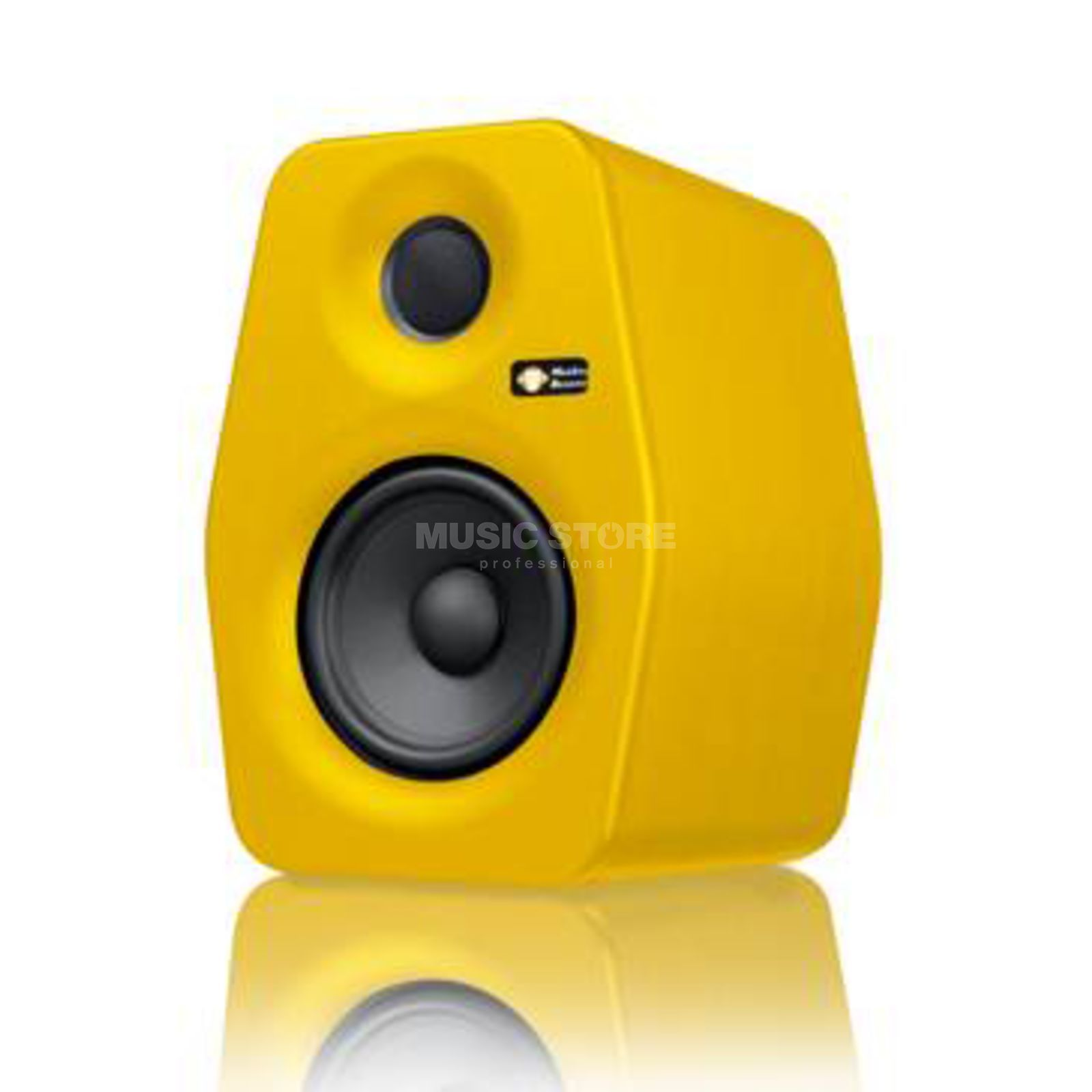 Monkey Banana Turbo 5, Yellow Active Monitor Speaker Produktbillede