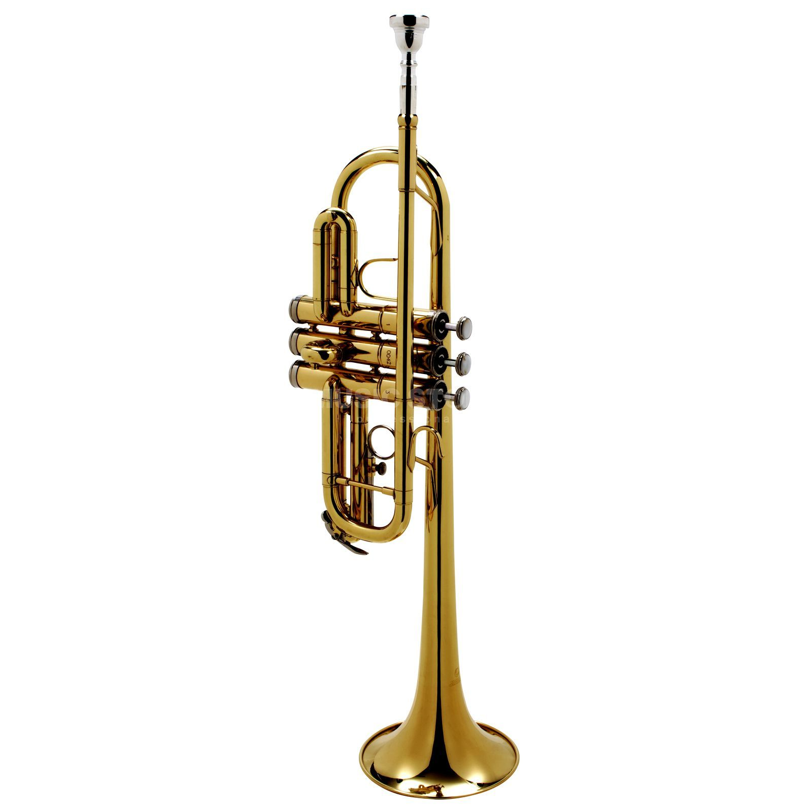 Monzani MZTR-700L C-Trumpet Brass, Lacquered Product Image