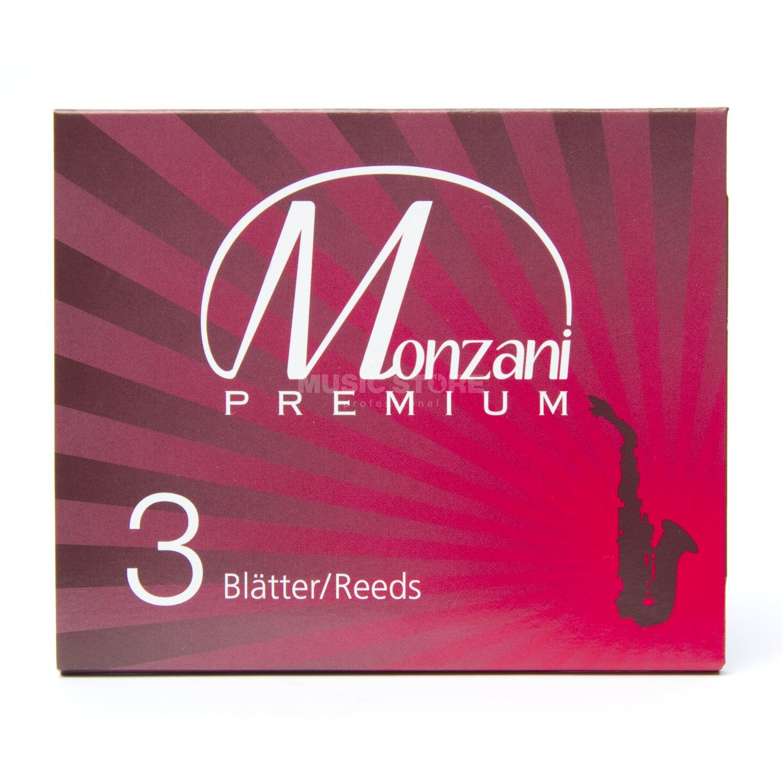 Monzani Premium B Clarinet DEU 2.5 Box of 3 Product Image