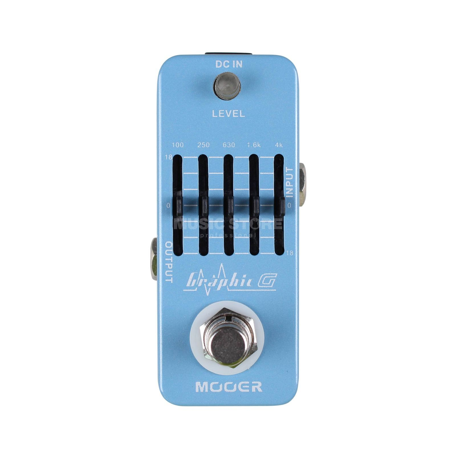 Mooer Audio Graphic G 5-Band Guitar Equalizer Produktbillede