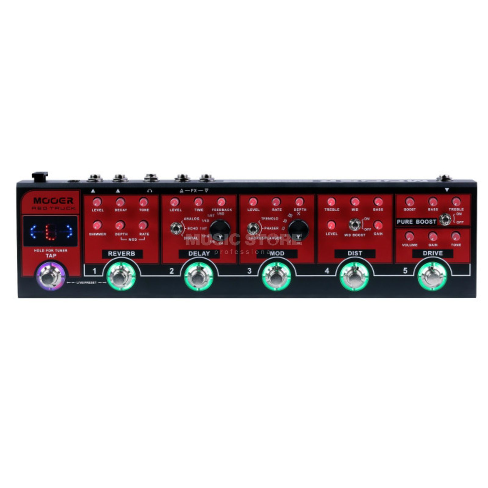 Mooer Audio Red Truck Product Image