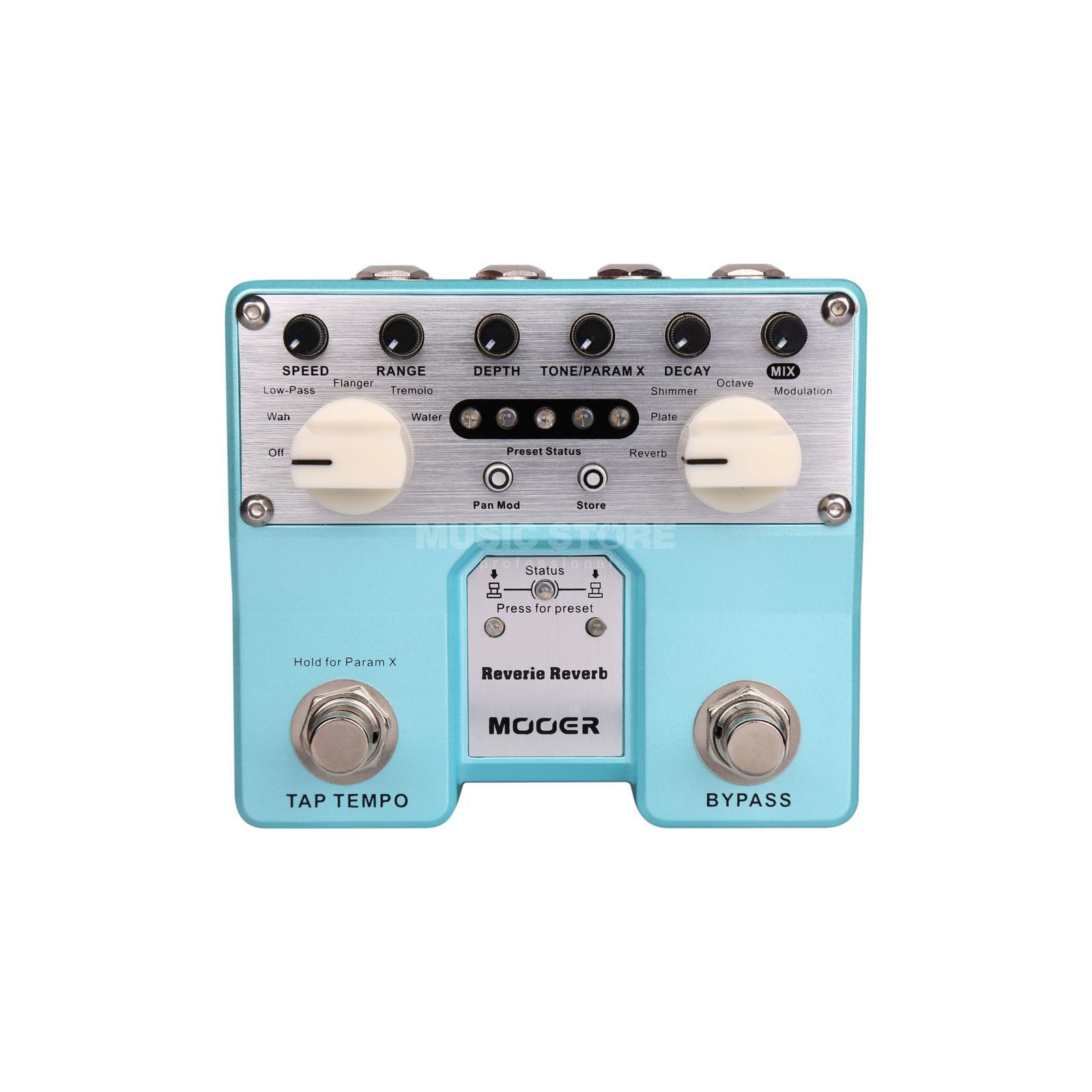 Mooer Audio Reverie Digital Reverb Produktbillede