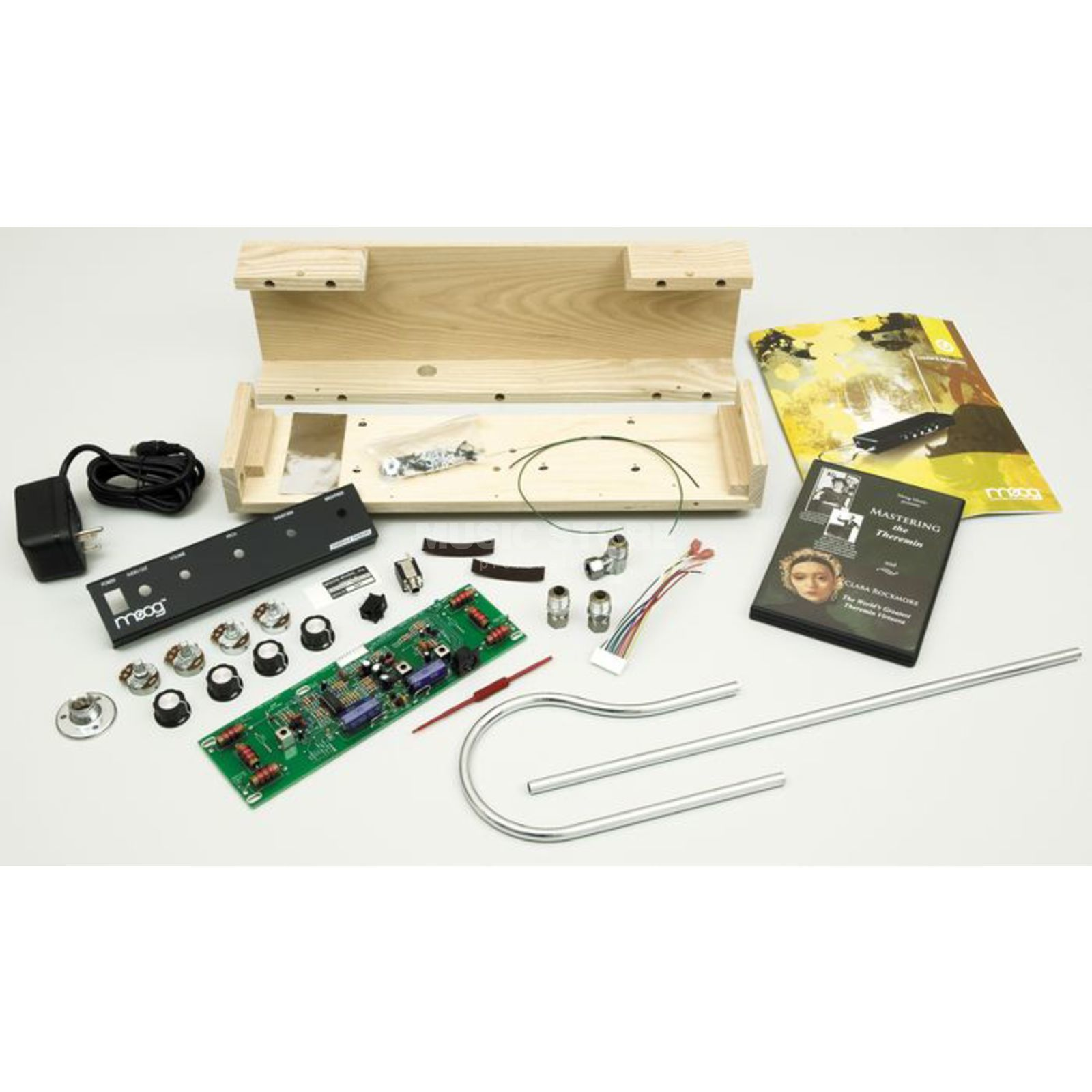 Moog Etherwave Theremin Kit Esche Bausatz Produktbild