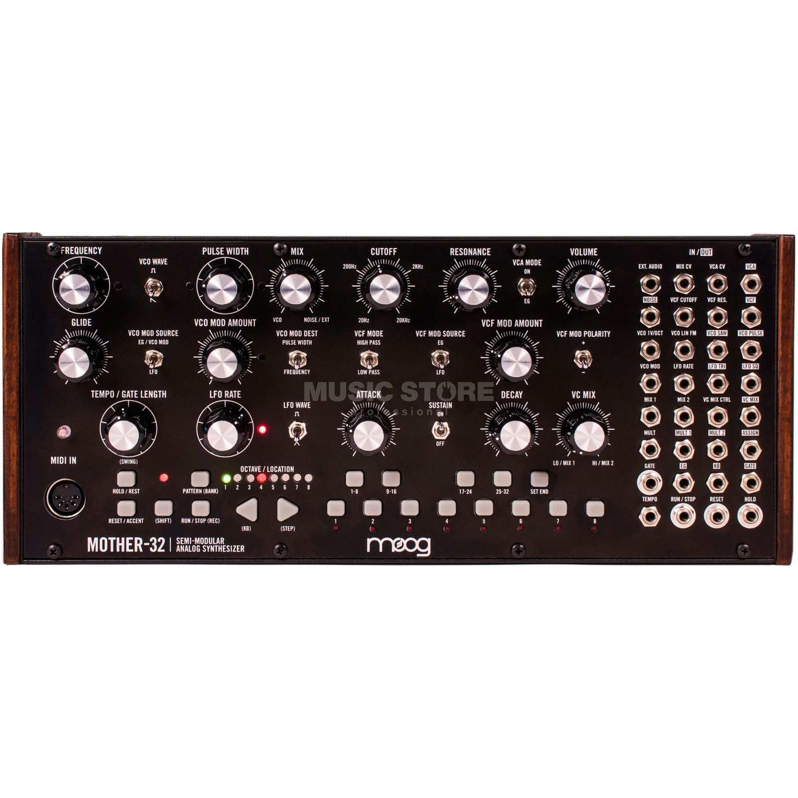 Moog Mother-32 semi-modular Synthesizer Produktbild