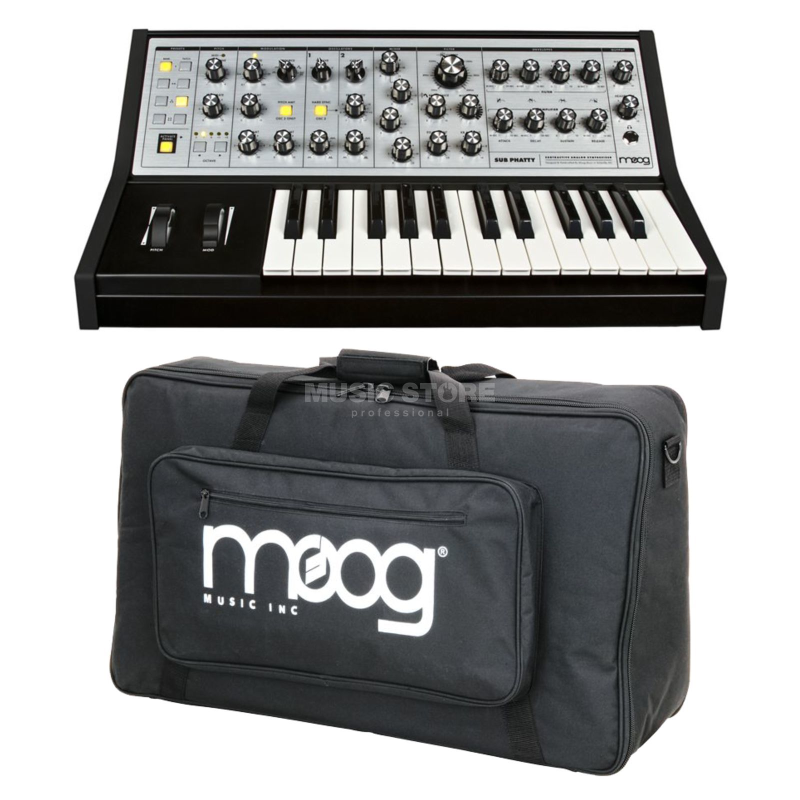 Moog Sub Phatty + Gig Bag - Set Produktbild