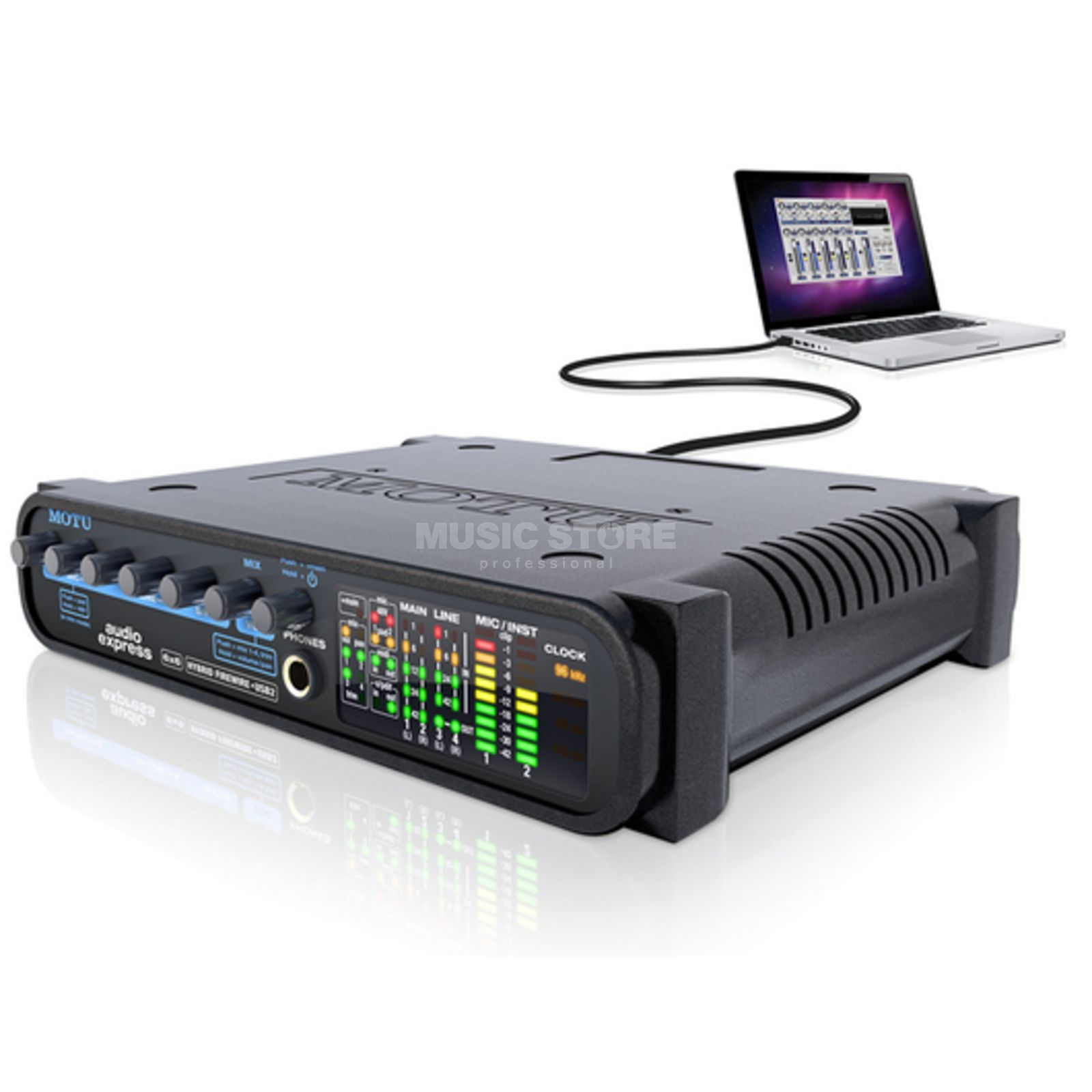 MOTU Audio Express Hybrid Audio Interface Product Image