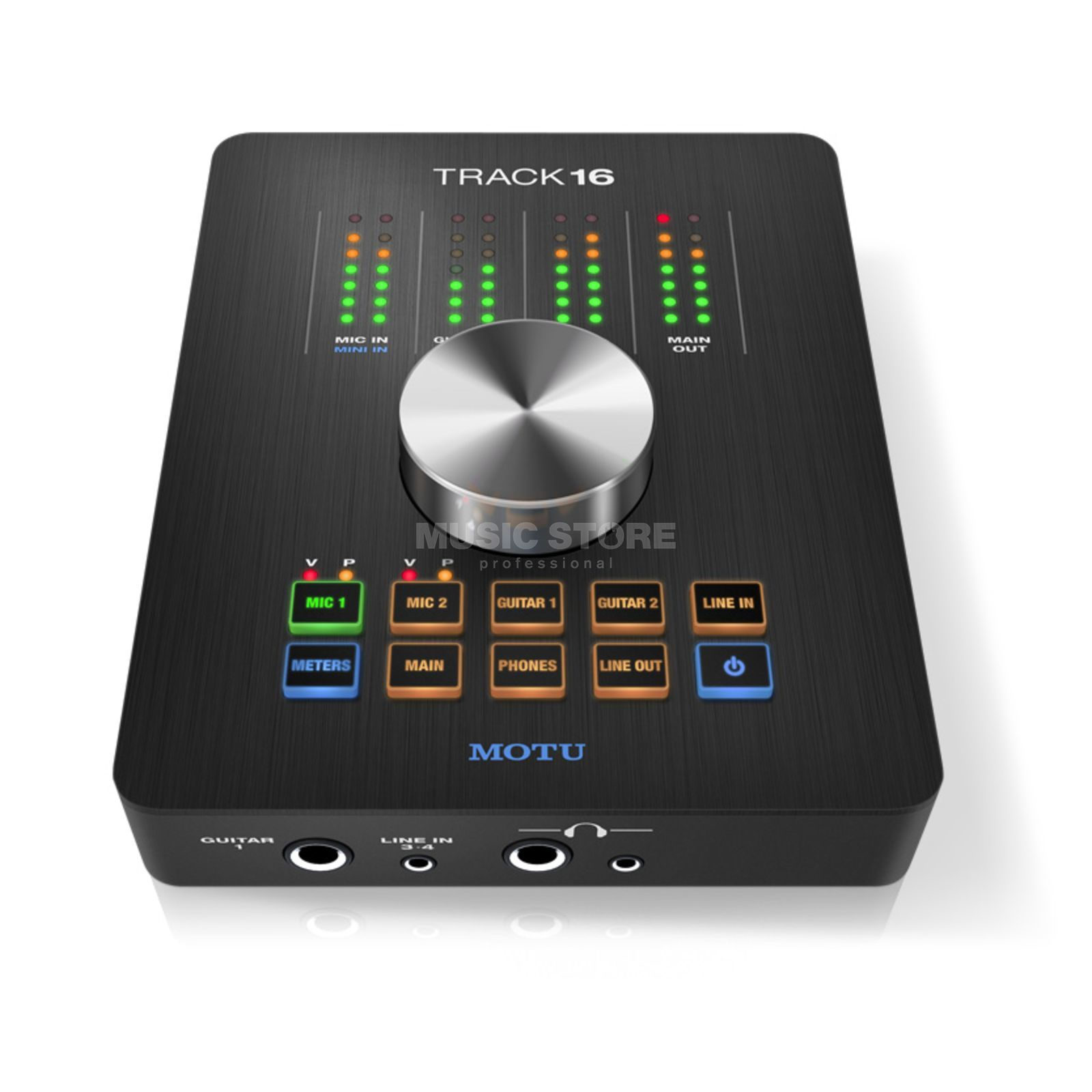 MOTU Track16 Hybrid USB & FireWire  Desktop Audio Interface   Product Image