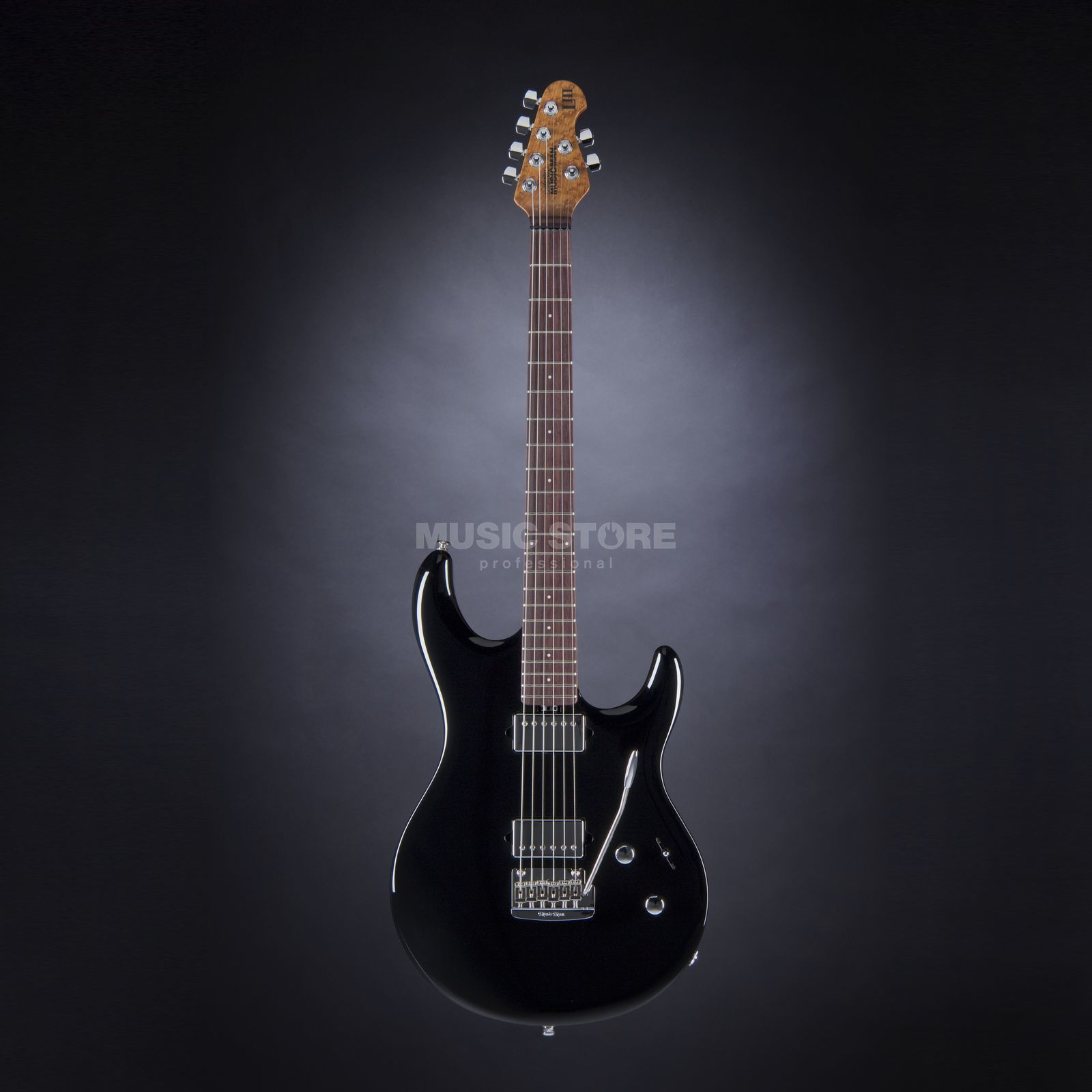 Music Man Luke III HH BK Black Produktbild