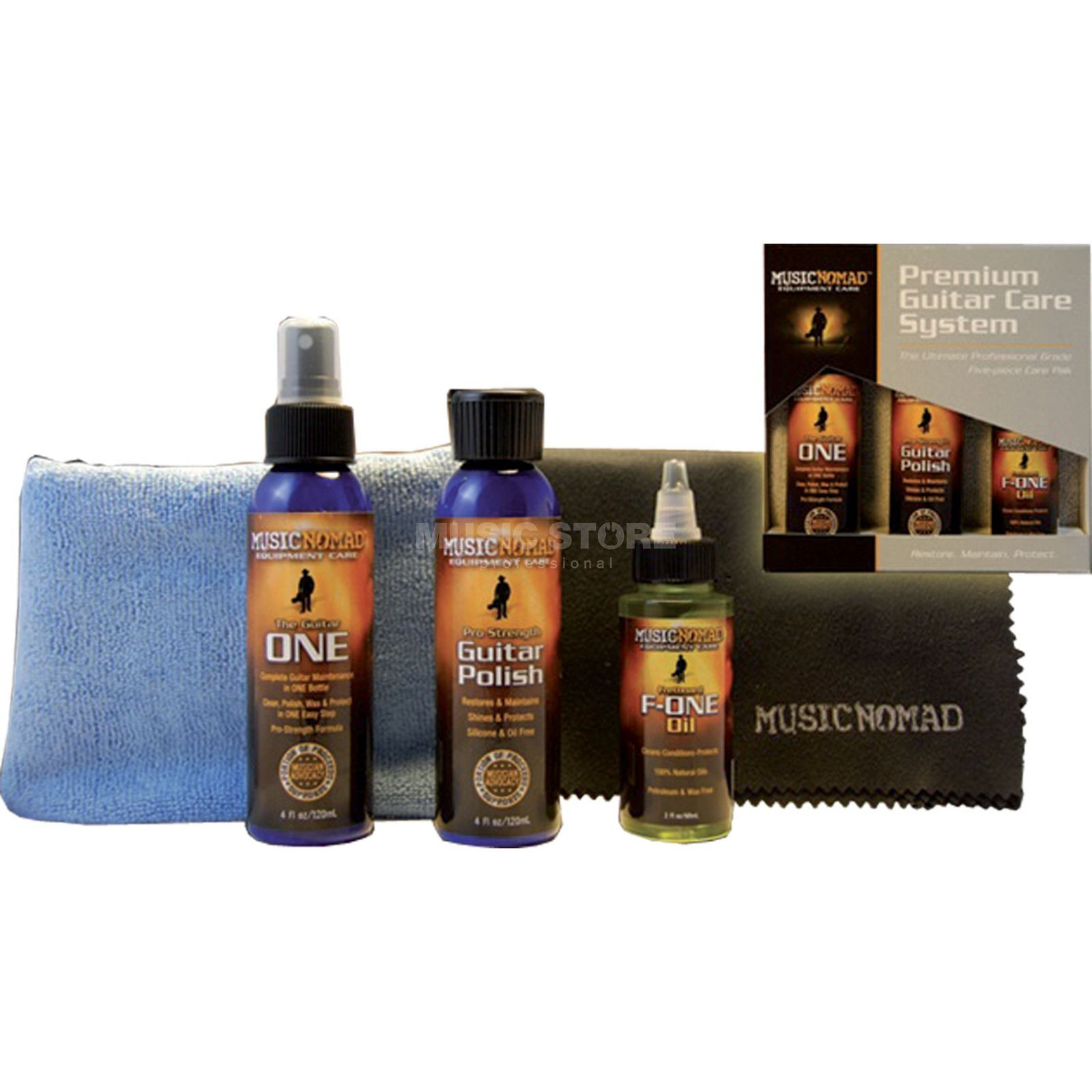 Music Nomad MN108 Premium Guitar Care Kit  Produktbillede