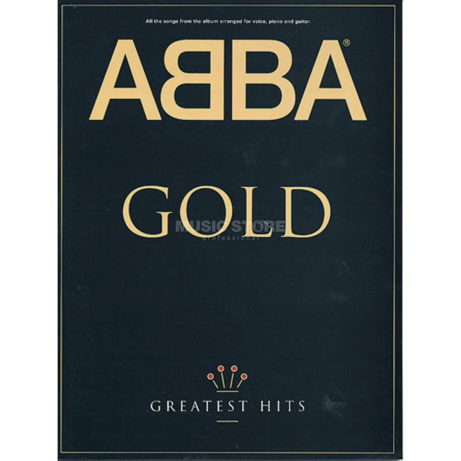 Music Sales Abba - Gold Greatest Hits PVG Produktbild