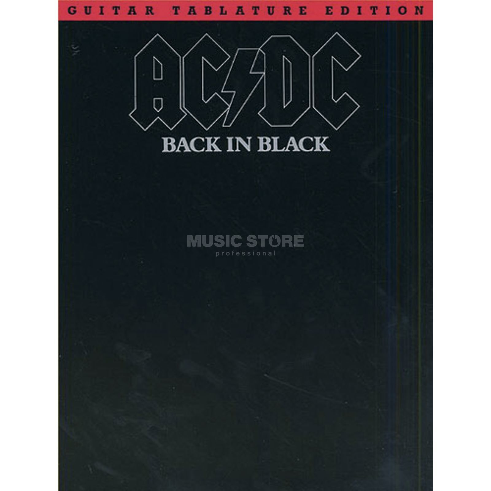 Music Sales AC/DC: Back In Black Produktbild