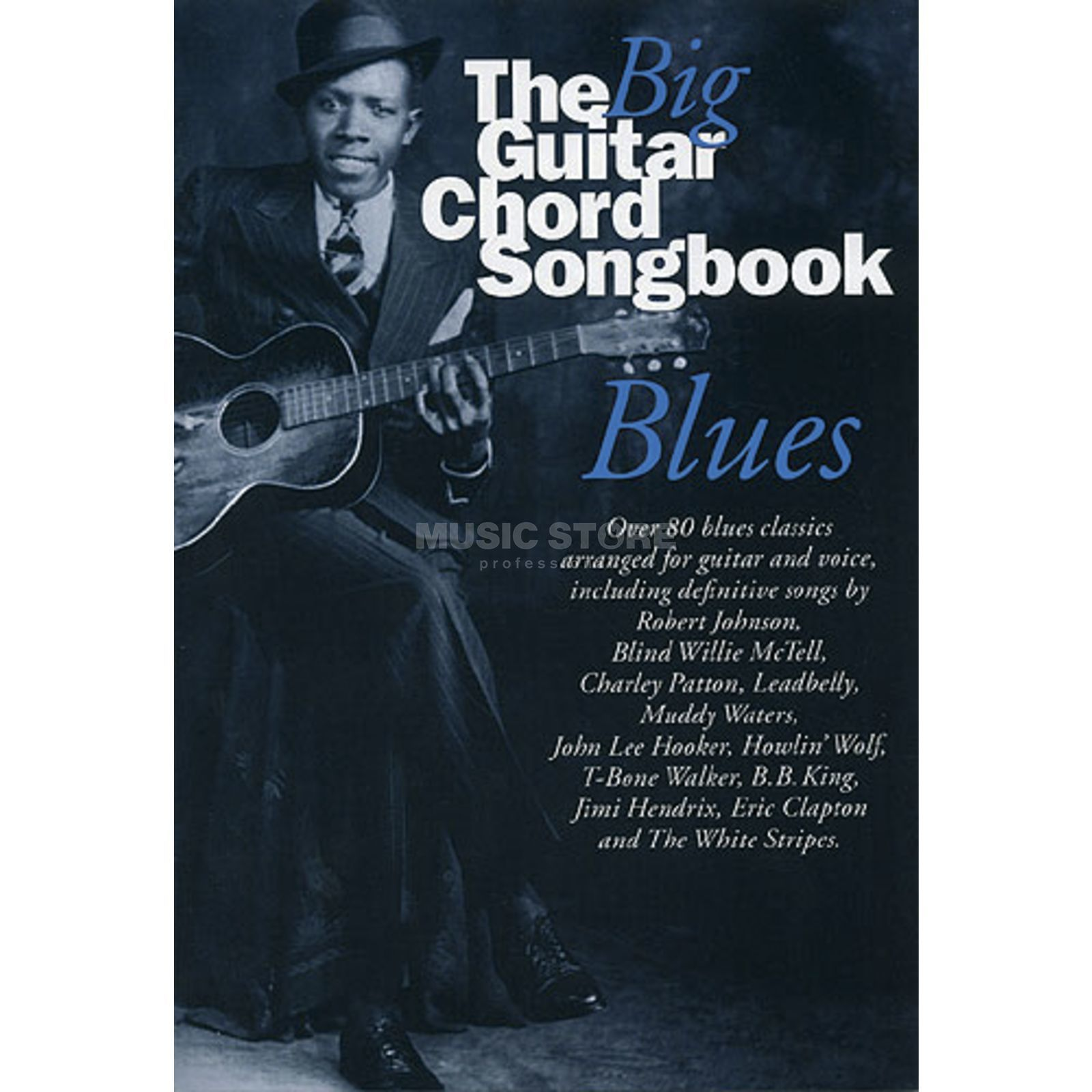 Music Sales Big Guitar Chord Songbook Blues Produktbild