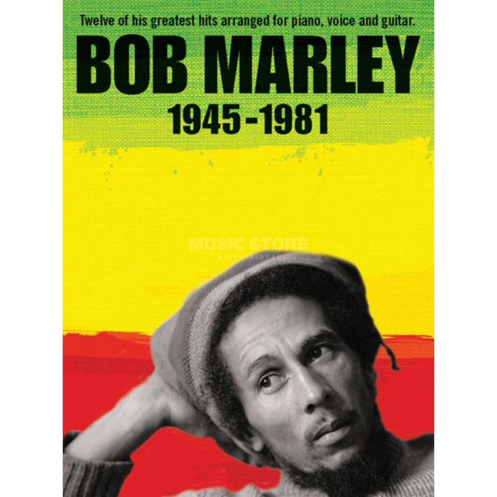 Music Sales Bob Marley: 1945-1981 (Revised Edition) Produktbillede