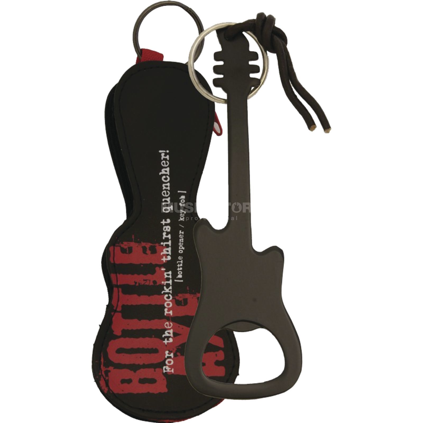 Music Sales Bottle Opener/Key Fob Black Produktbillede