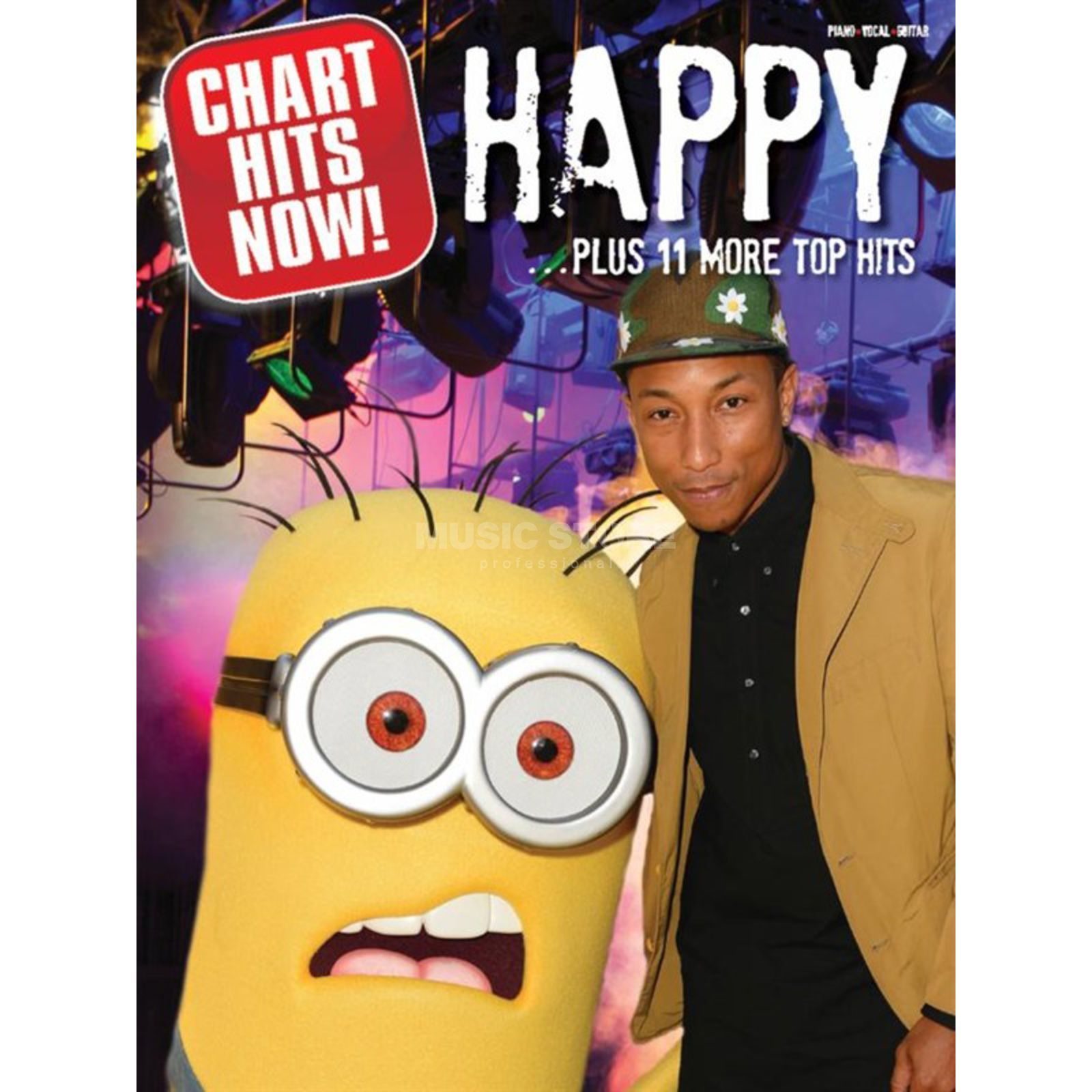 Music Sales Chart Hits Now! 'Happy' Plus 11 More Top Hits Produktbild