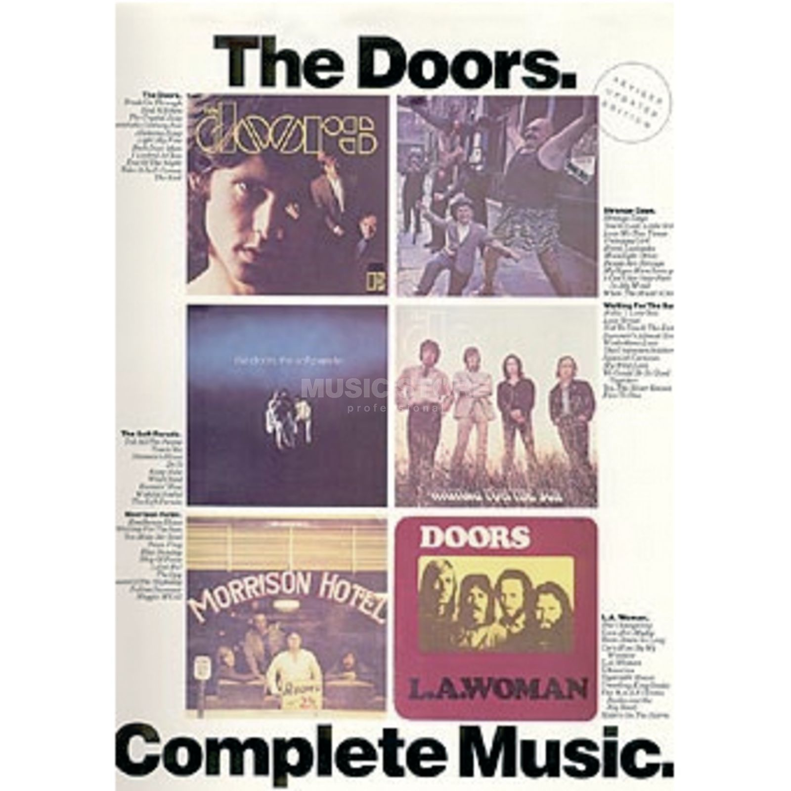 Music Sales Doors - Complete Music  PVG Produktbild