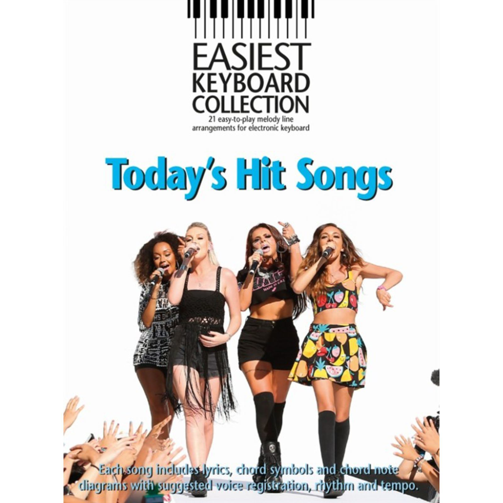 Music Sales Easiest Keyboard Collection: Today's Hit Songs Produktbillede