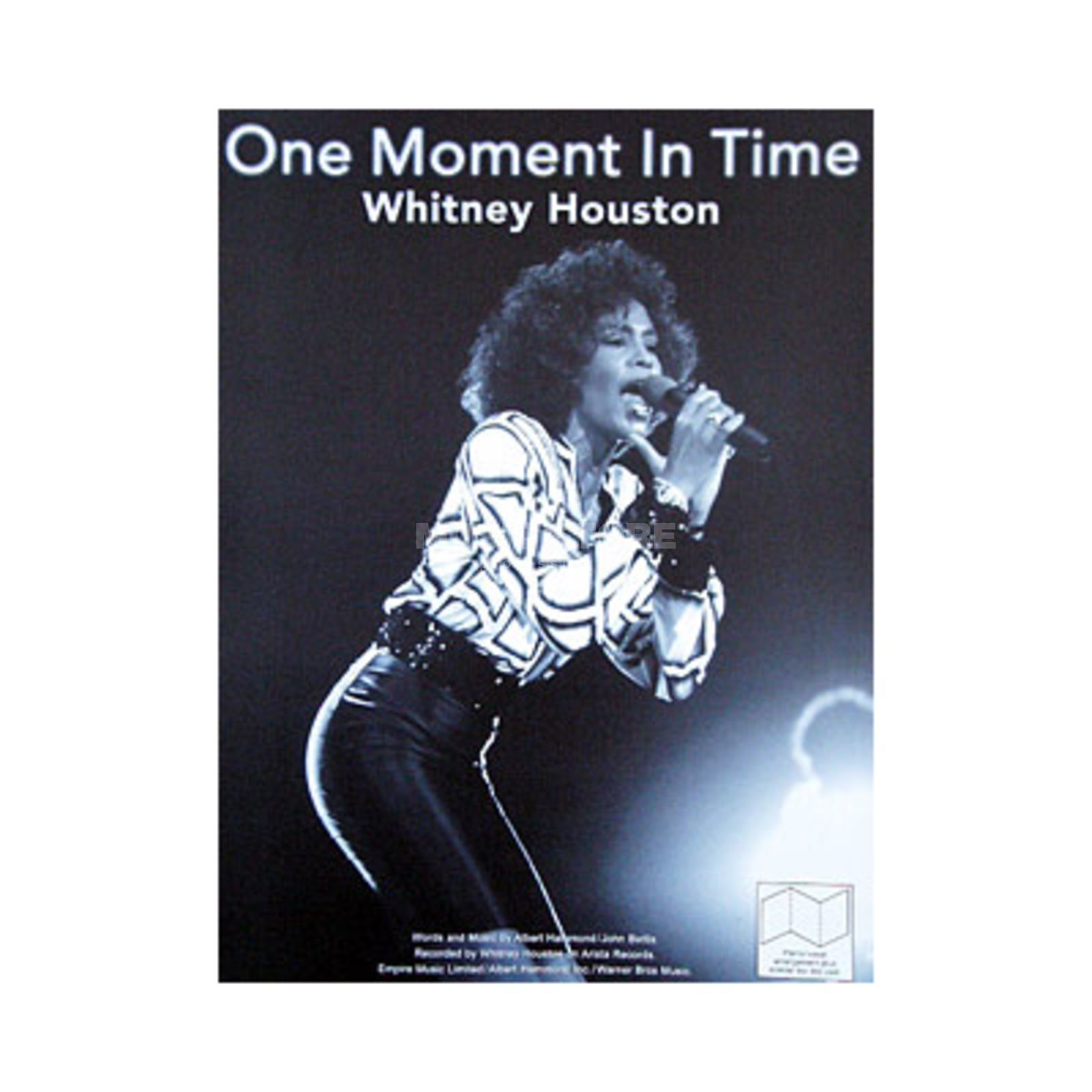 Music Sales Houston: One Moment in Time Single Sheet Produktbillede