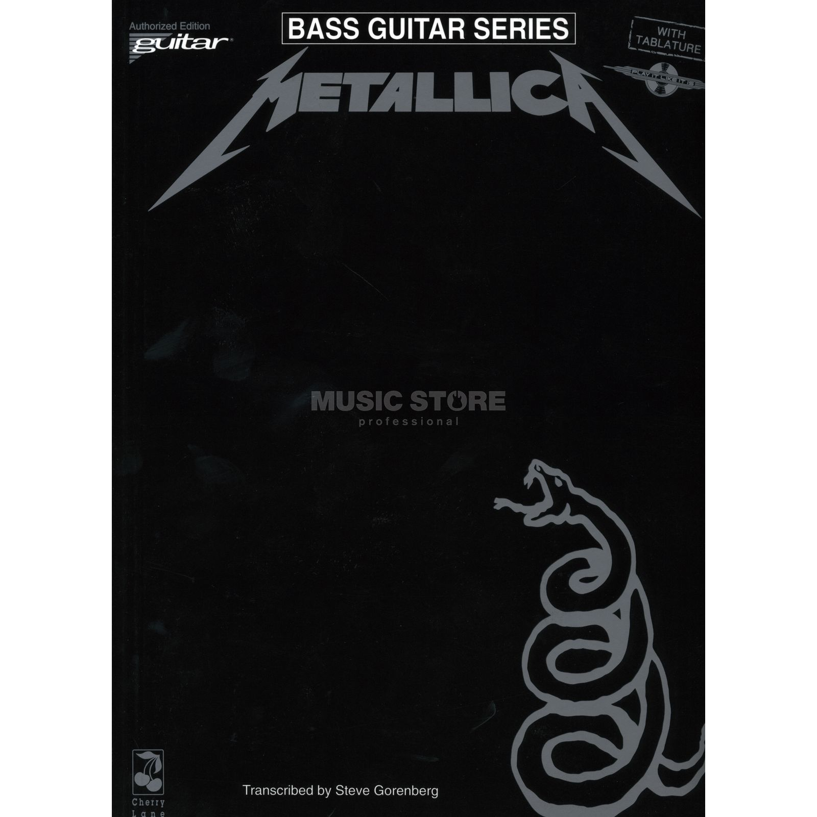 Music Sales Metallica - Black Album BASS Bass TAB Produktbild
