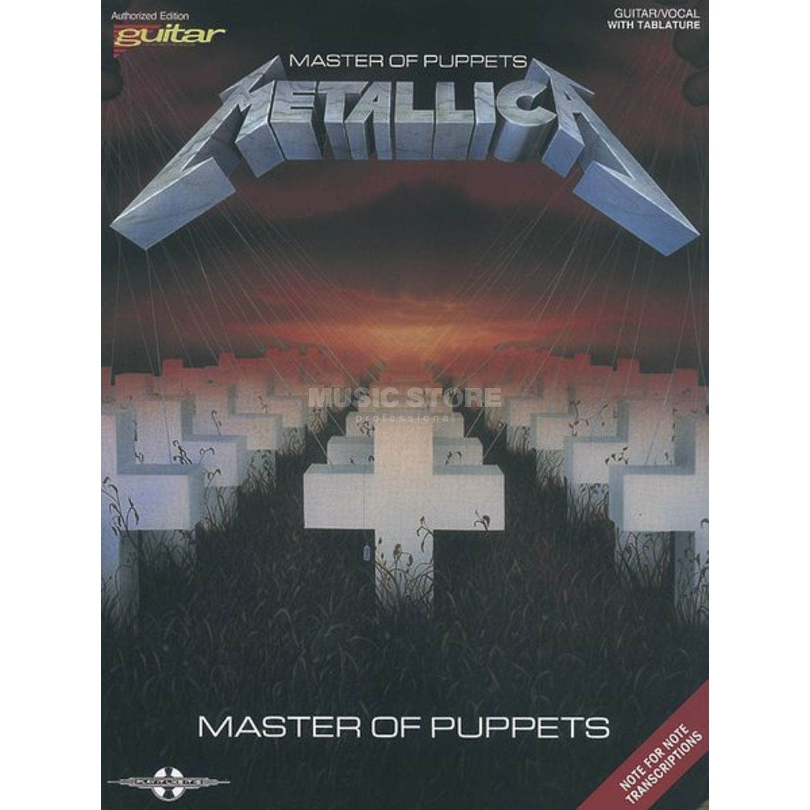 Music Sales Metallica: Master Of Puppets Produktbild
