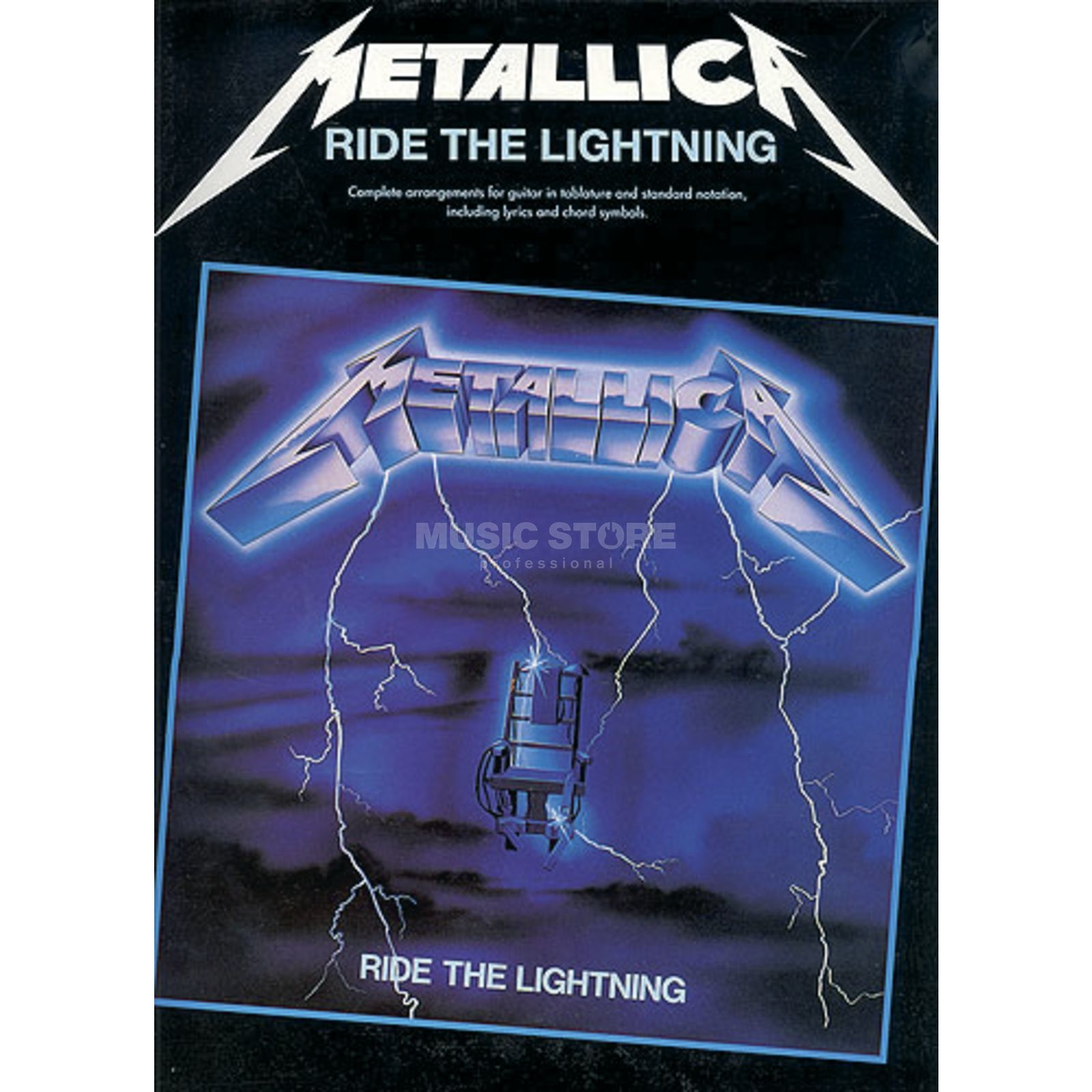 Music Sales Metallica: Ride The Lightning Produktbild