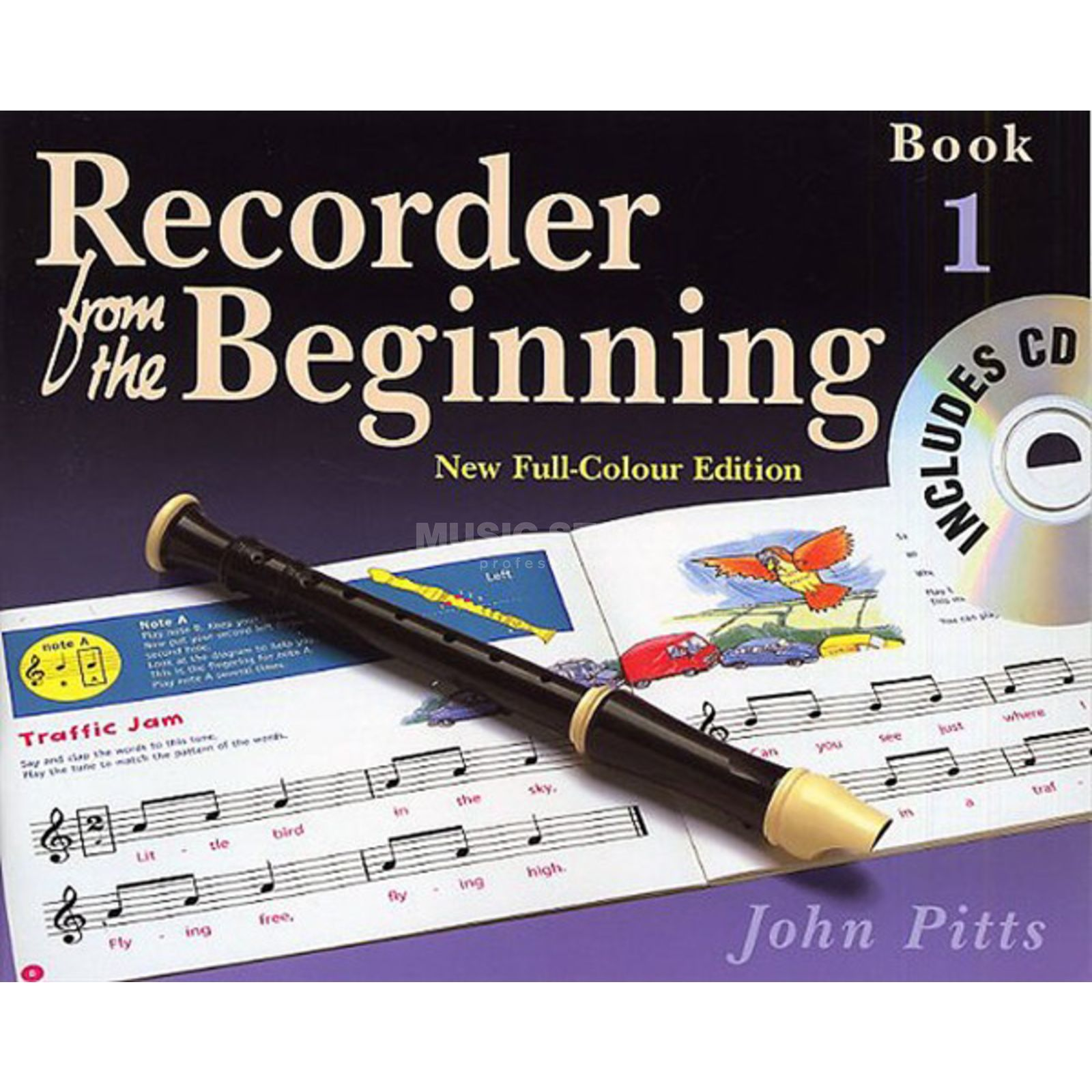Music Sales Recorder From The Beginning 1 Pupil's Book/CD (2004 Edition) Produktbillede